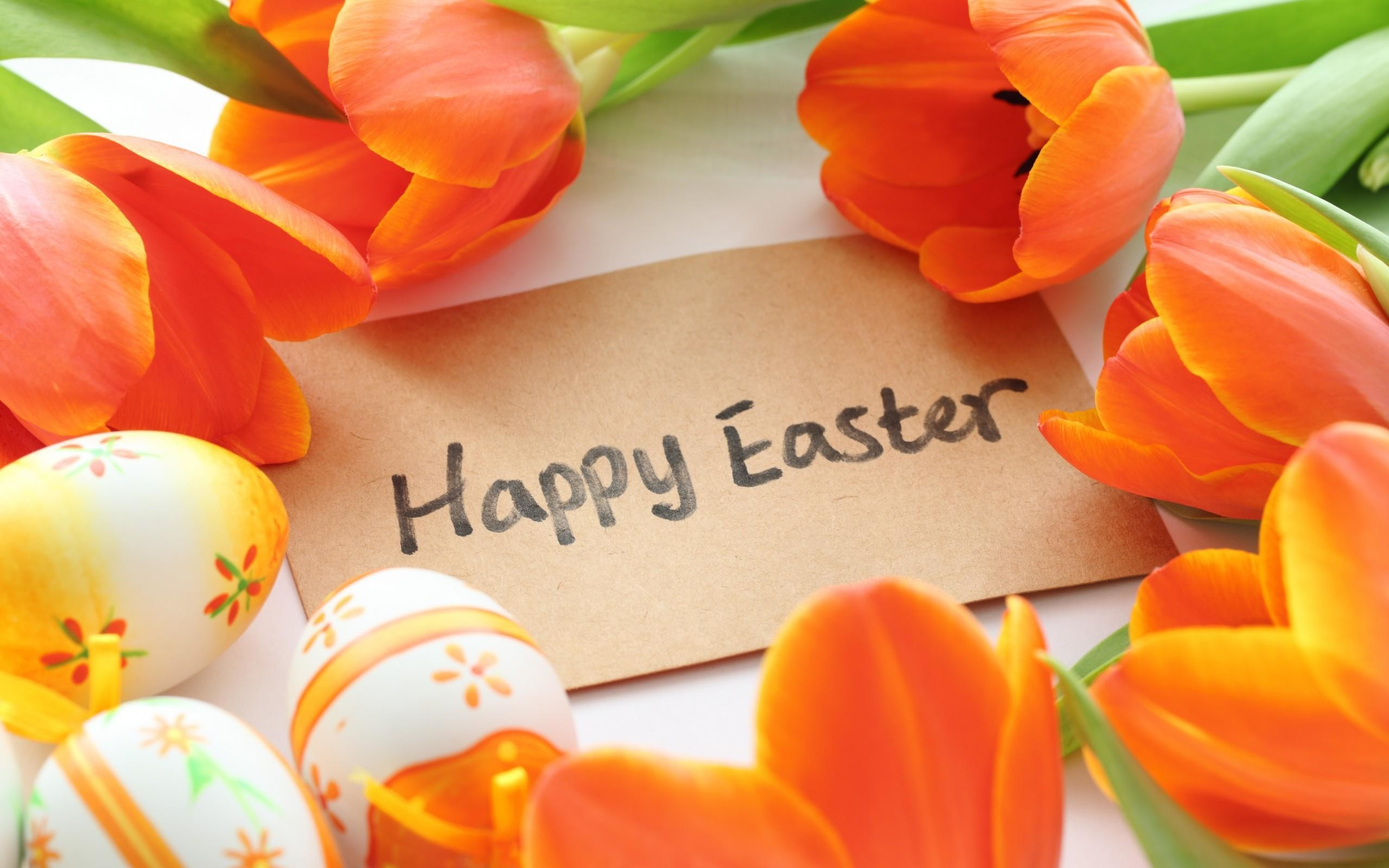 Happy Easter Desktop Wallpaper 2560×1600 | Cool PC Wallpapers