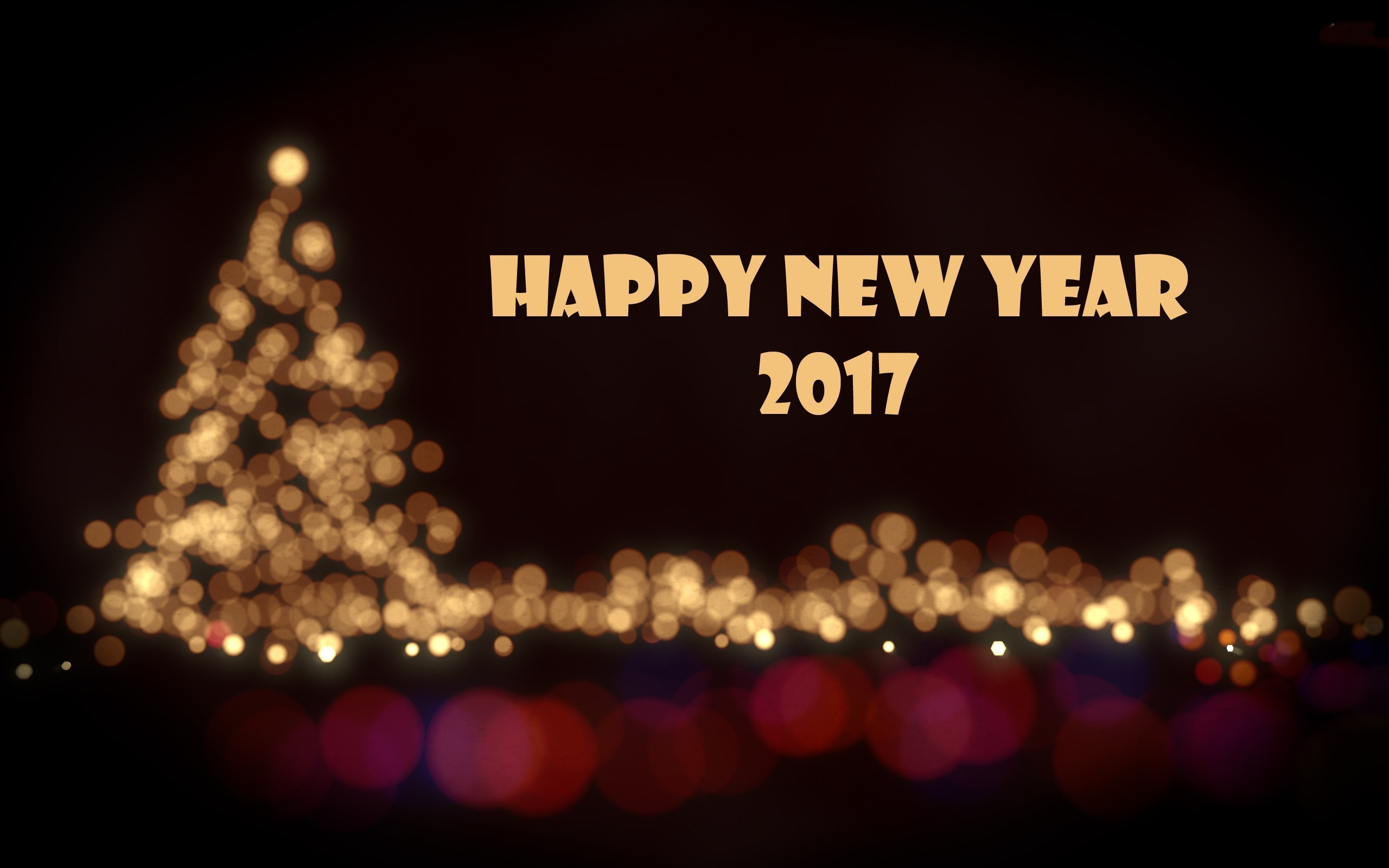 Happy New Year 2017 HD Wide Wallpaper for Widescreen (73 Wallpapers)