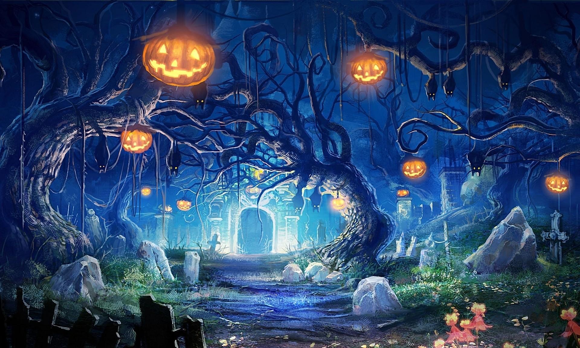 Live Halloween Wallpapers For Desktop