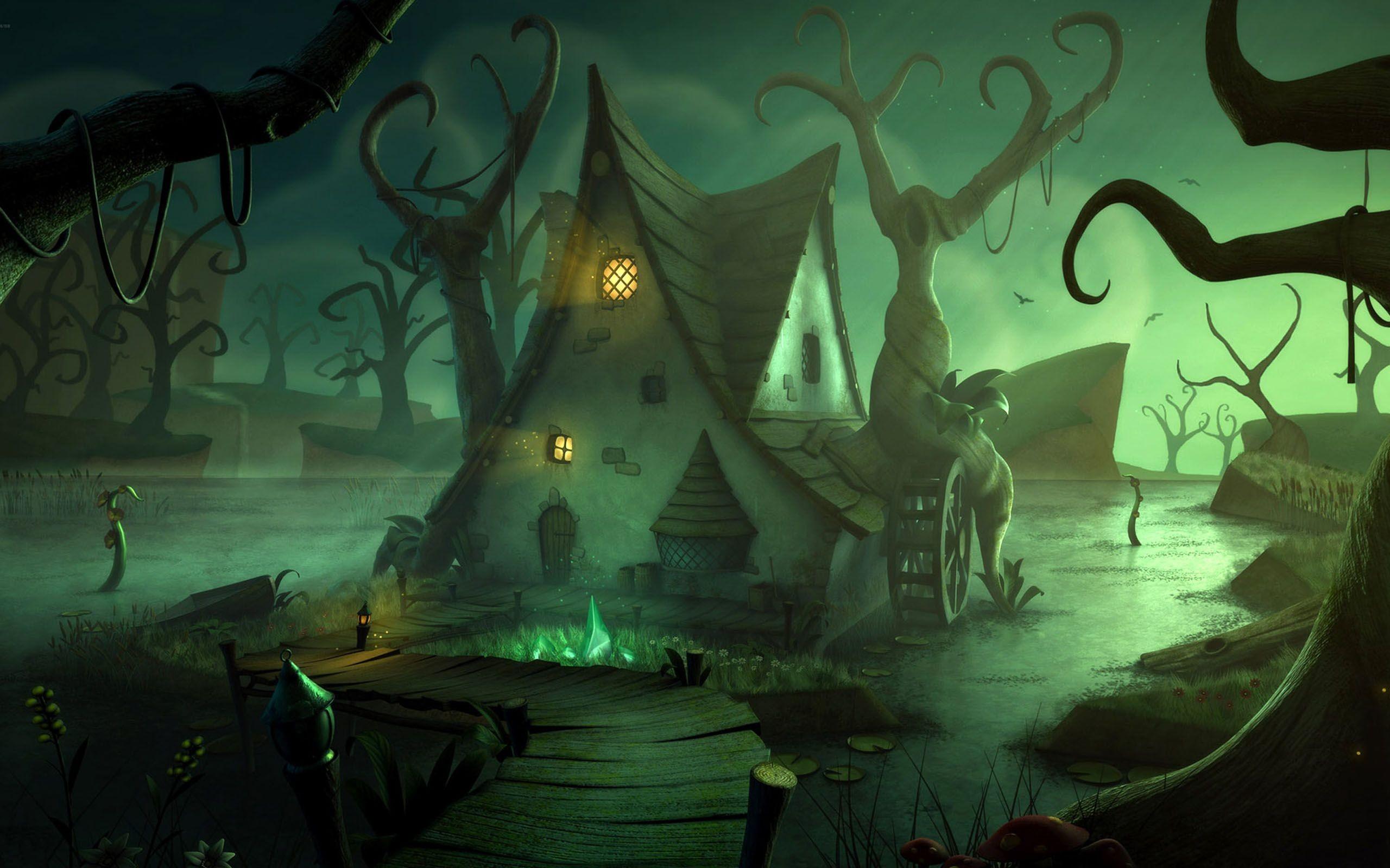 Desktop halloween wallpapers HD.