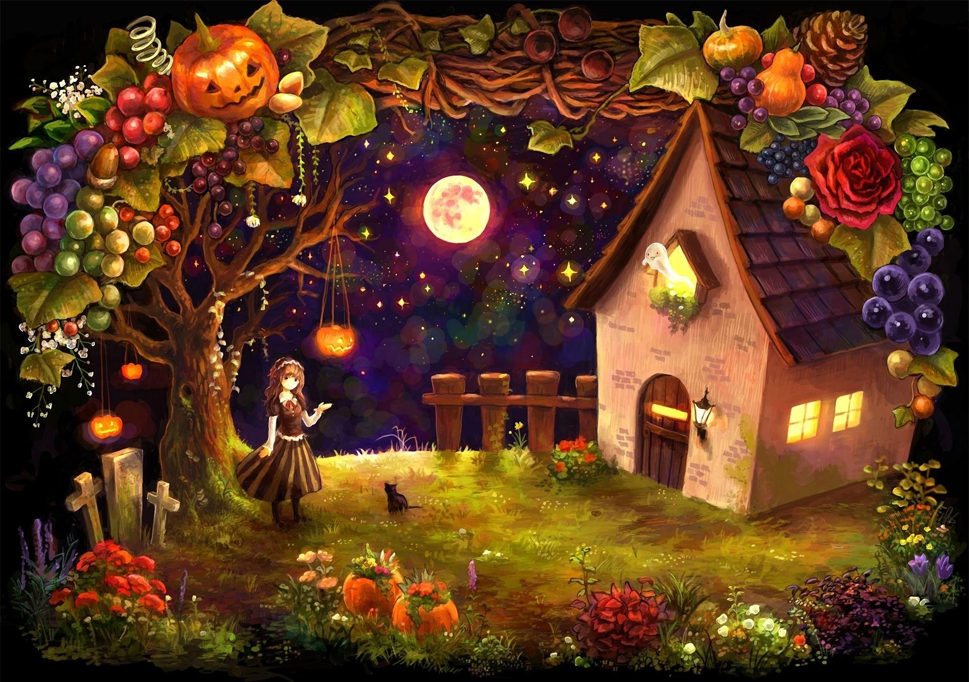 live halloween wallpaper desktop …