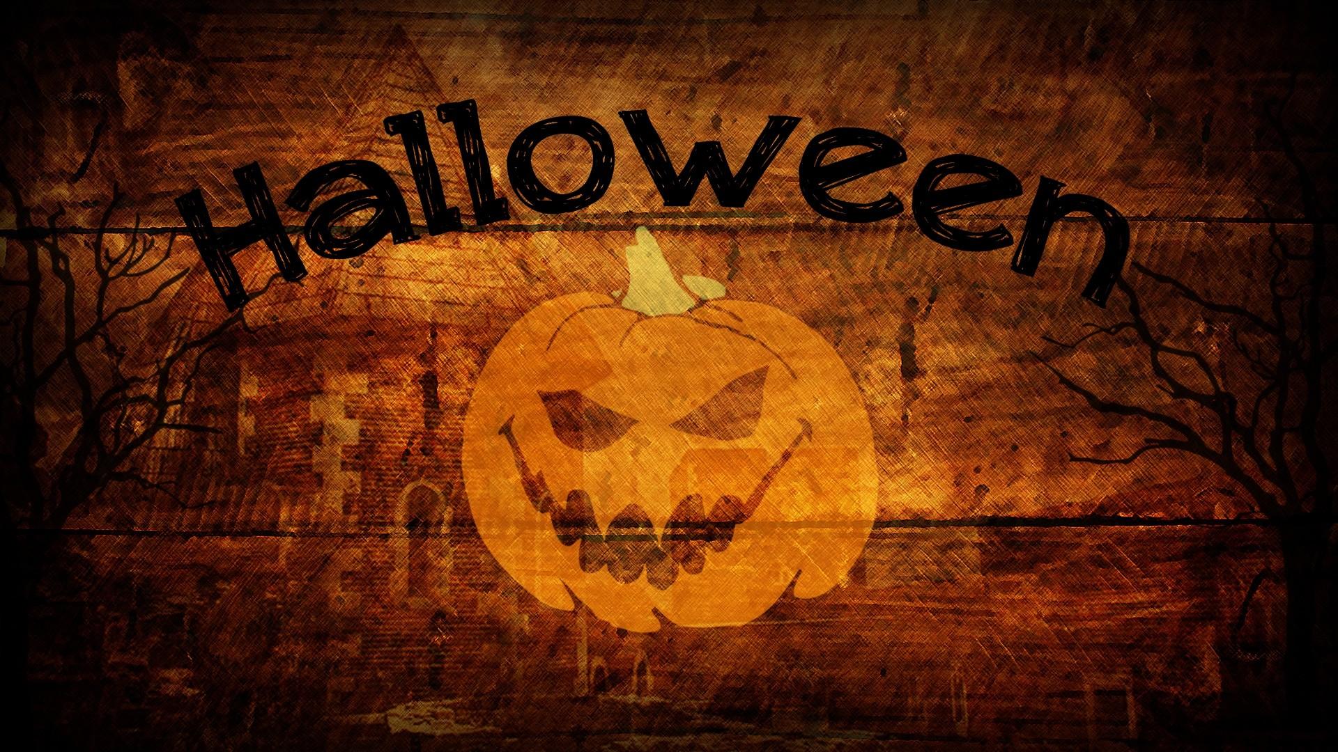 Pumpkin Halloween Wallpaper for Desktop.
