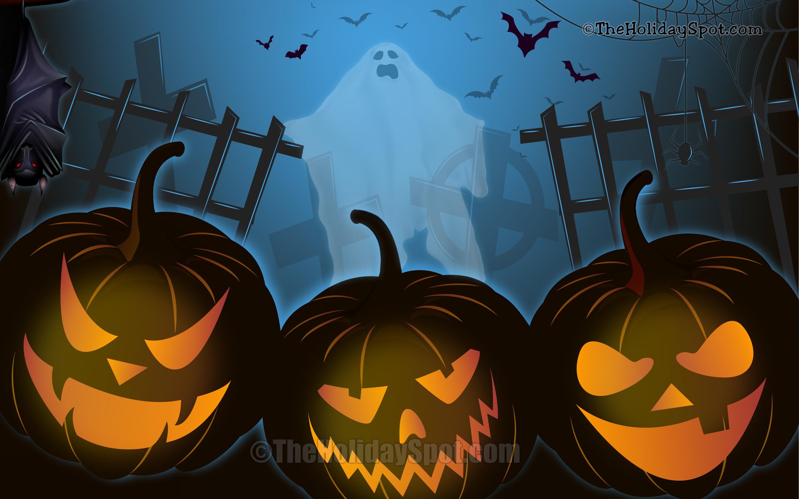 1920×1200 px; Live Halloween Wallpaper