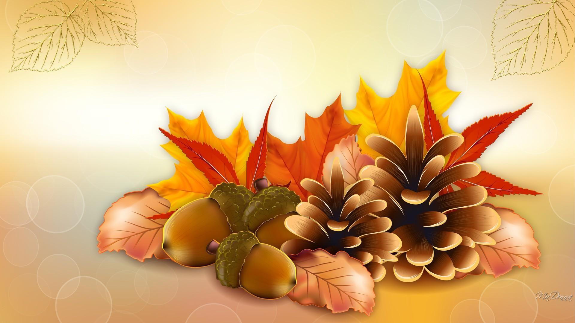 Thanksgiving Fall Vector Hd Wallpaper   Wallpaper List