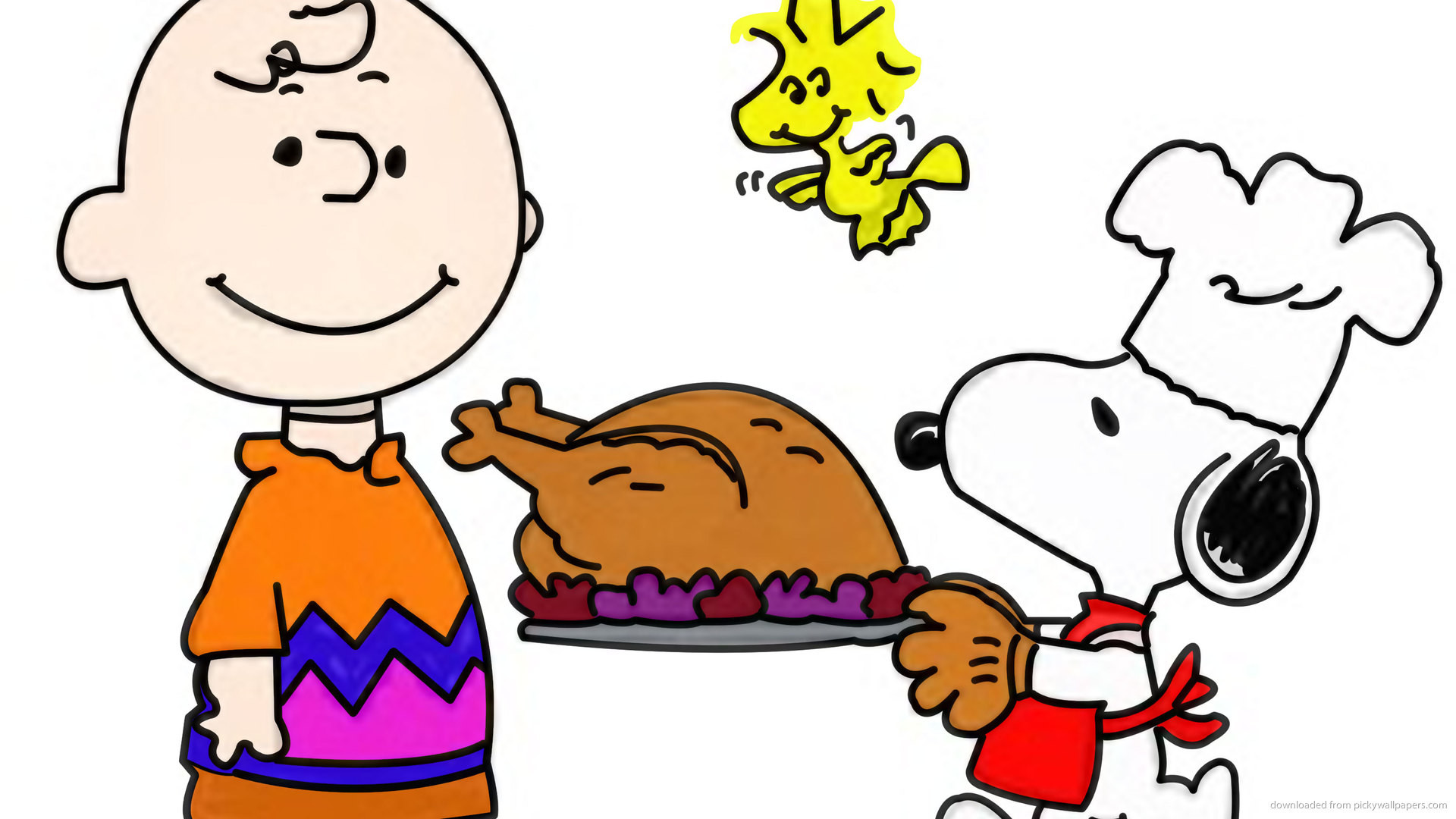 Snoopy Thanksgiving for 1920×1080