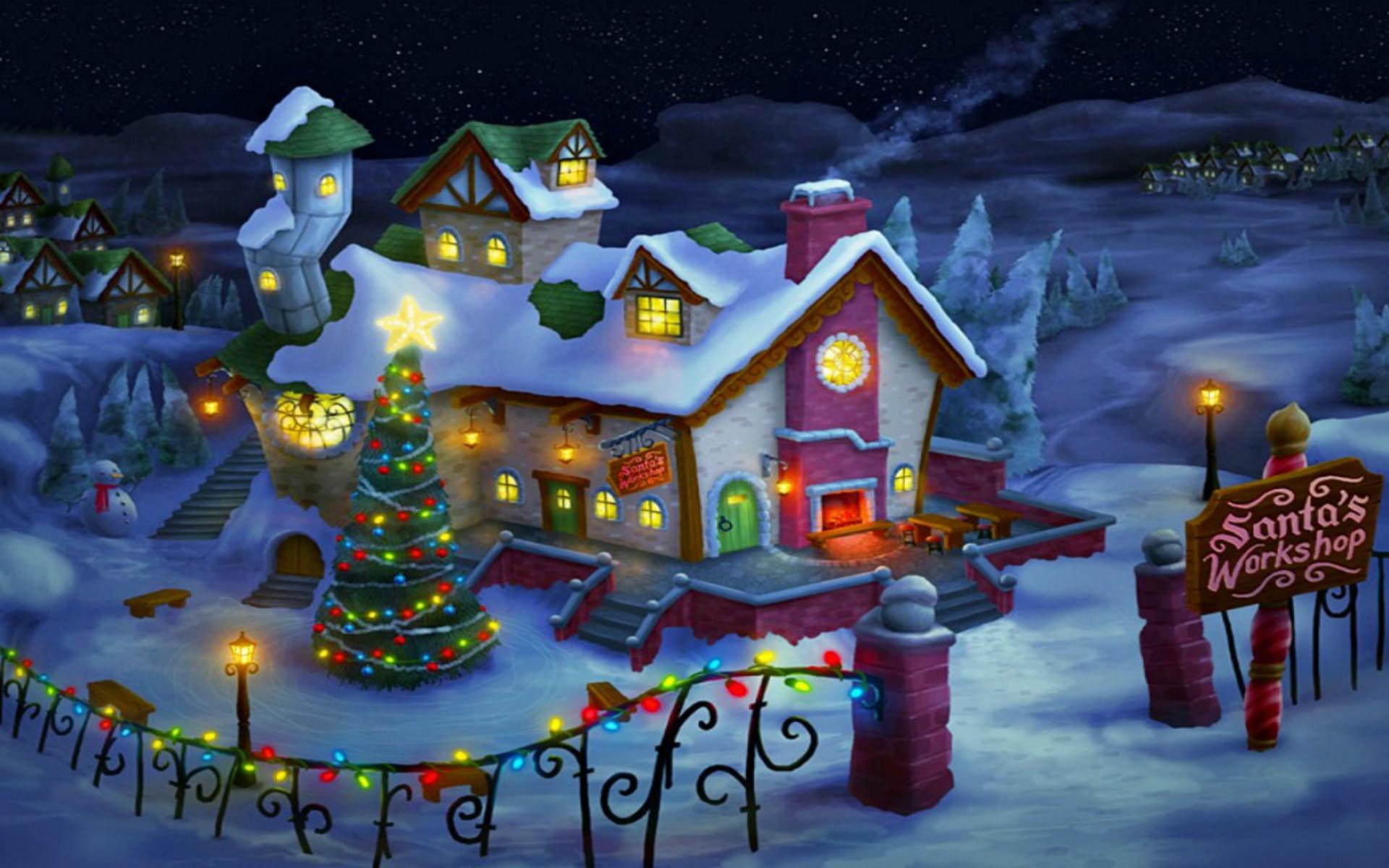 22 Christmas Free Desktop Backgrounds