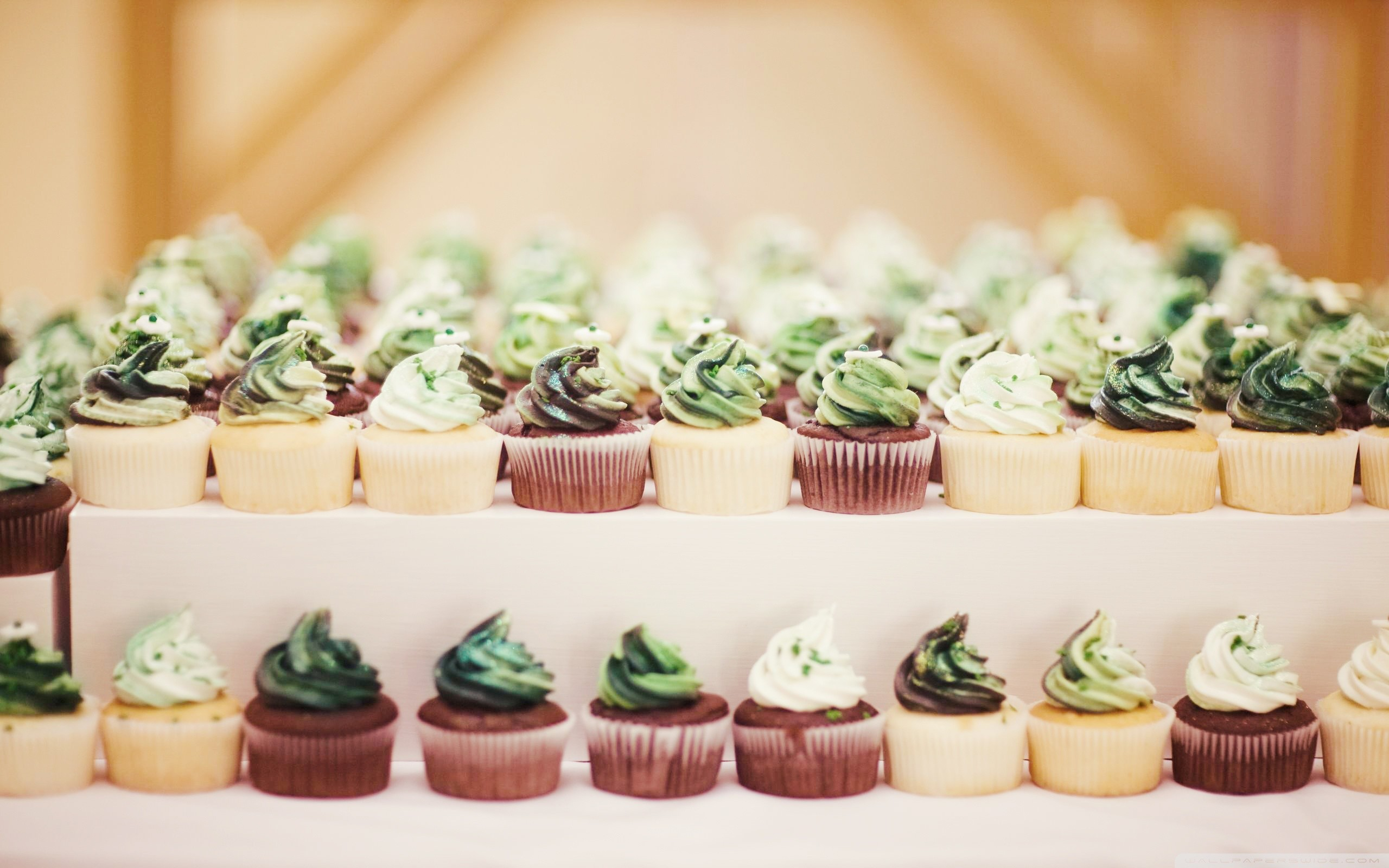 St Patricks Day Cupcakes HD Wide Wallpaper for Widescreen
