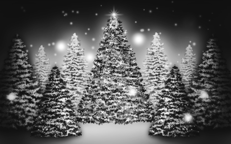 White Christmas Tree Wallpaper (18)