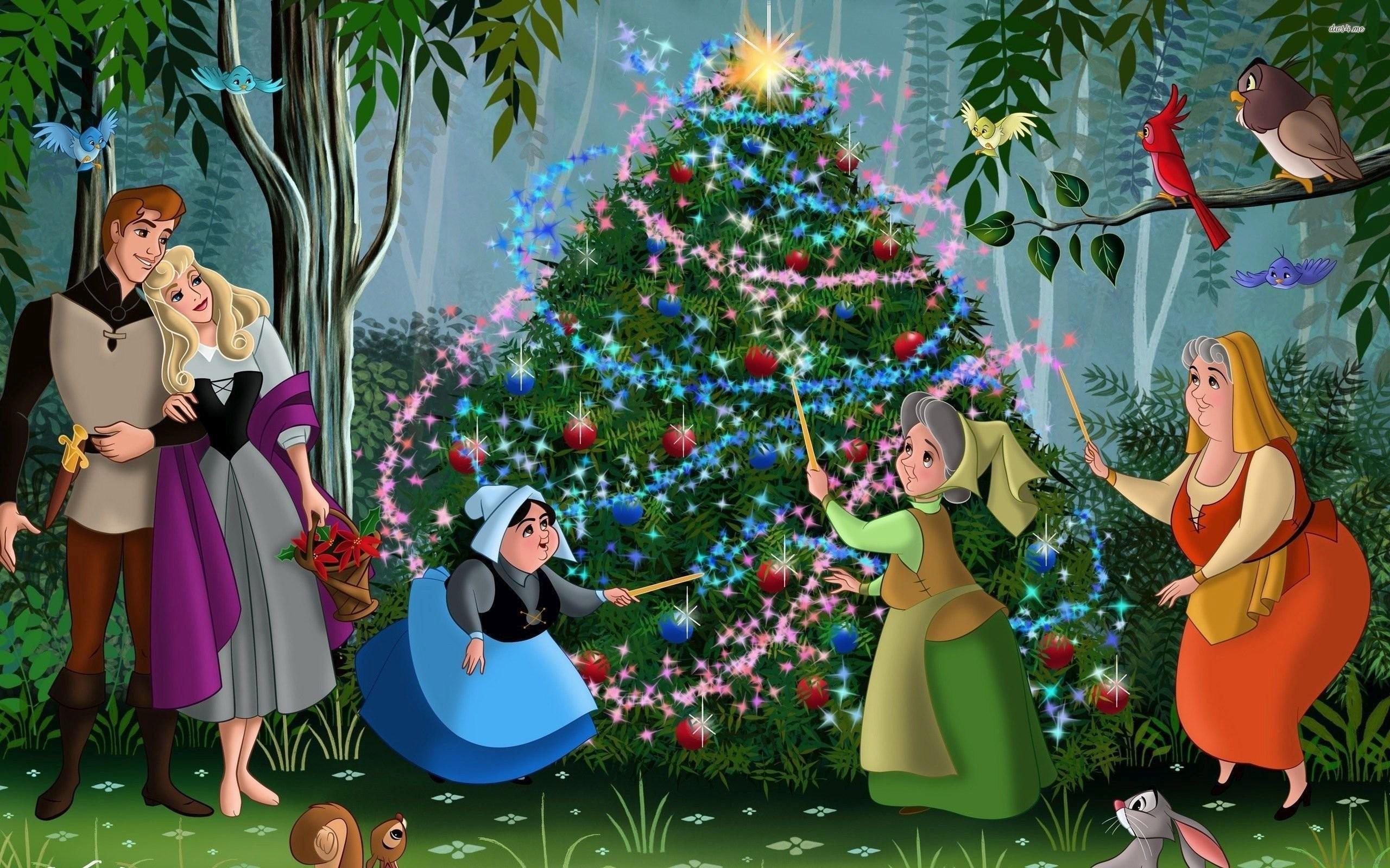 Sleeping Beauty Christmas