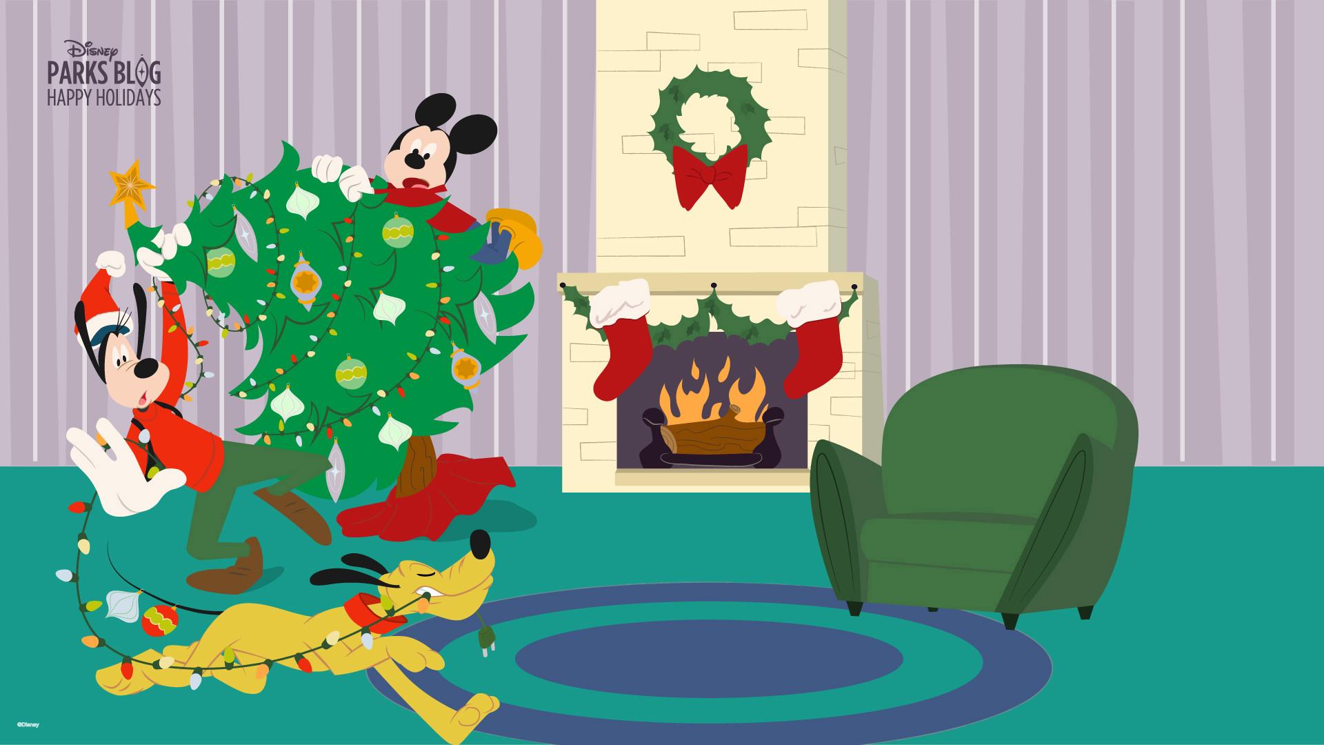 … Disney Parks Blog Holiday Wallpaper