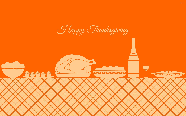 Wallpaper 17 Source · Thanksgiving Dinner WallDevil