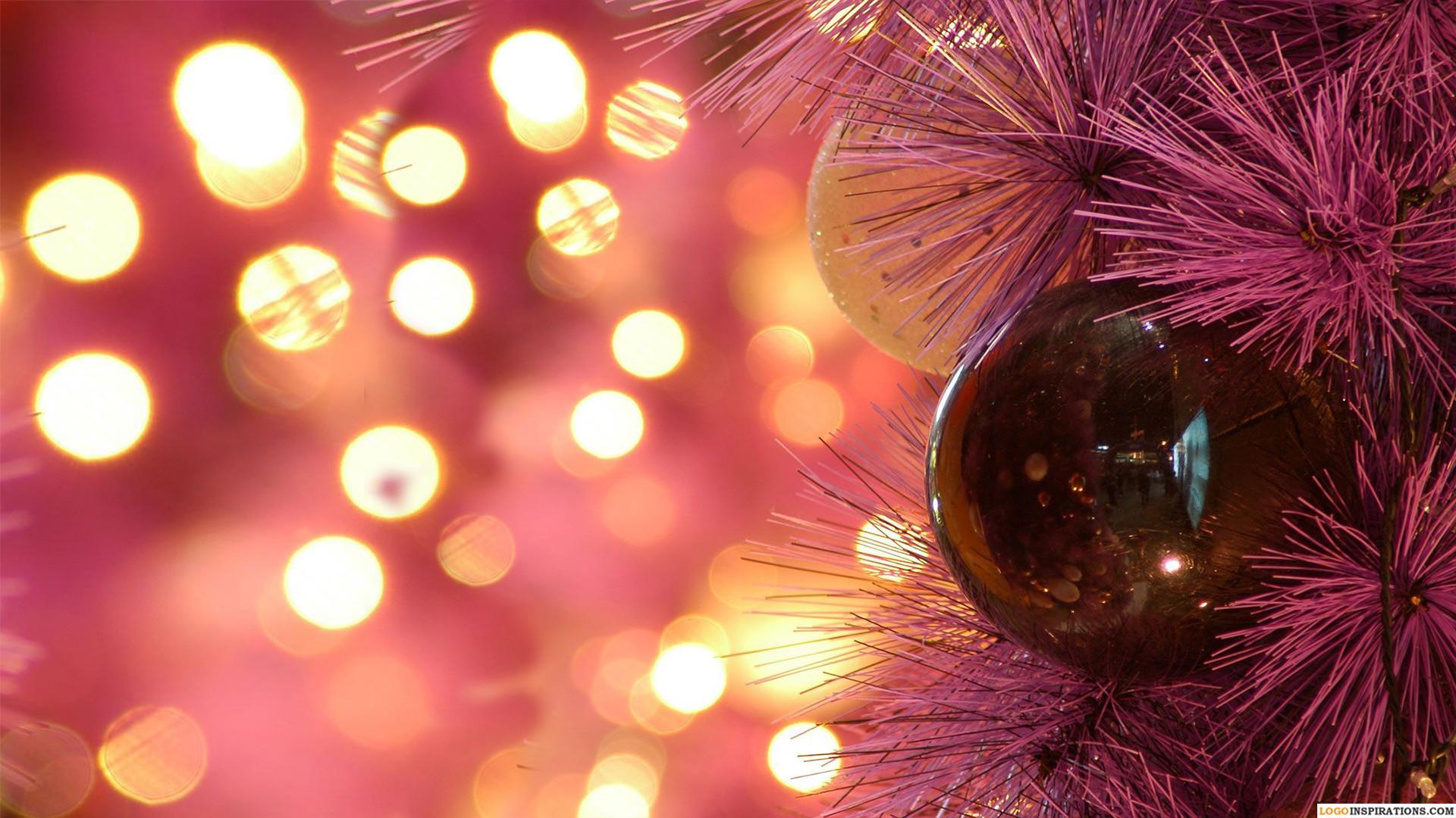Beautiful HD Christmas Lights Wallpaper