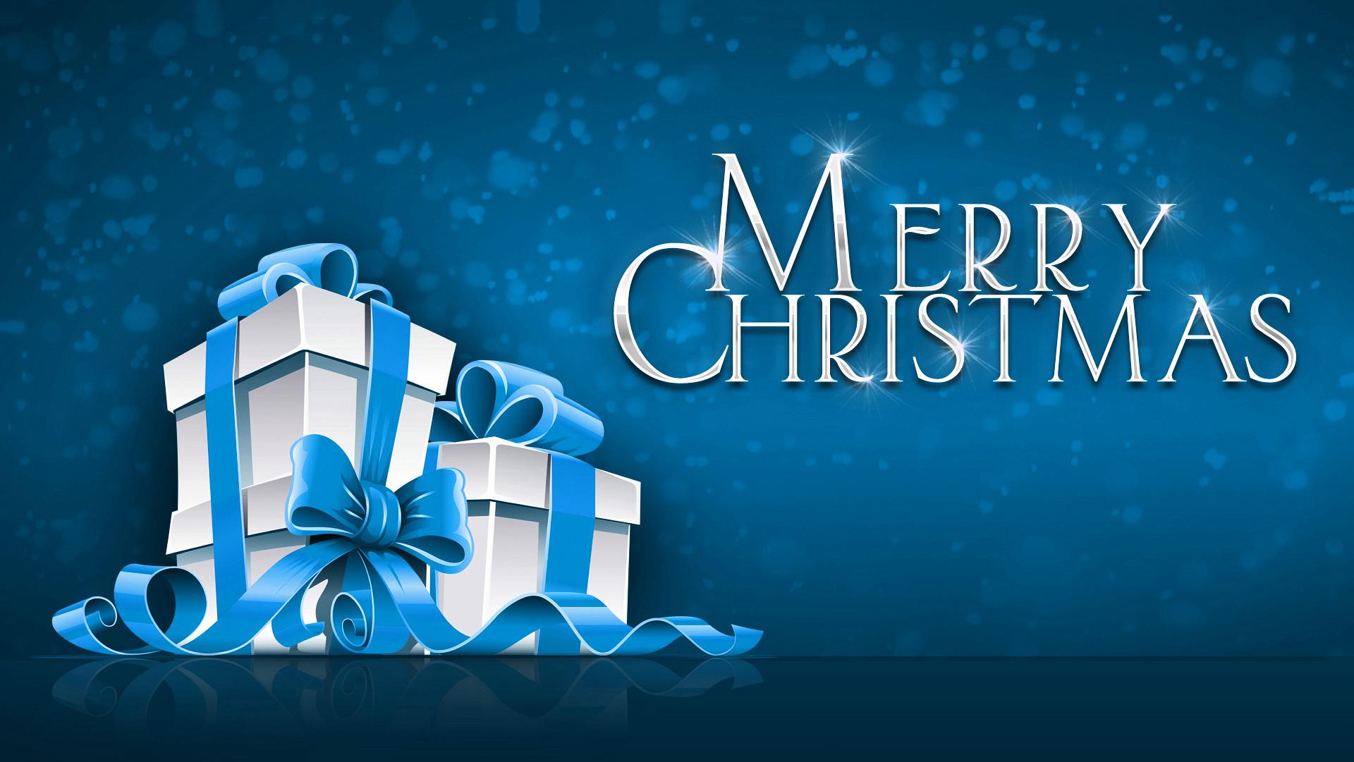 Merry Christmas 1080p Widescreen HD Wallpaper.