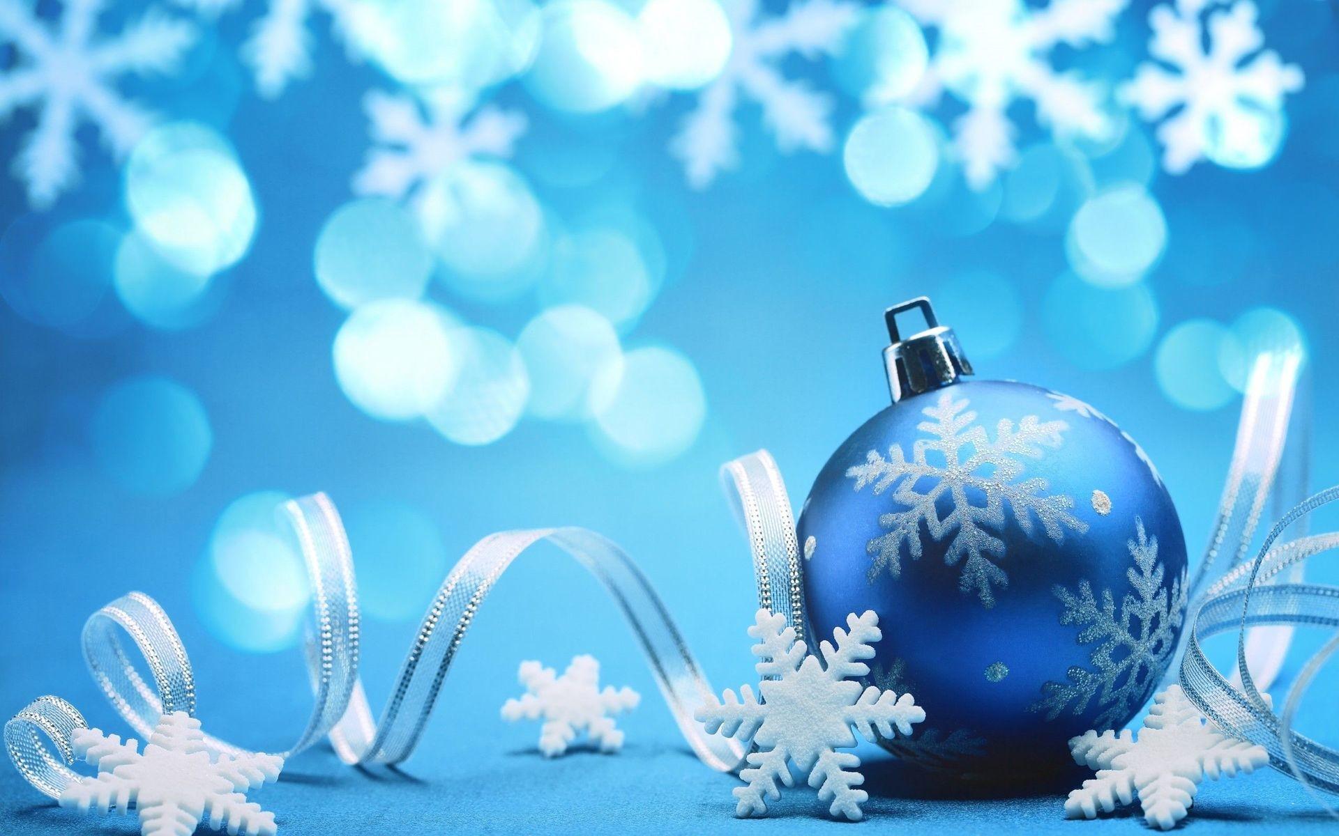 Beautiful Blue Christmas.