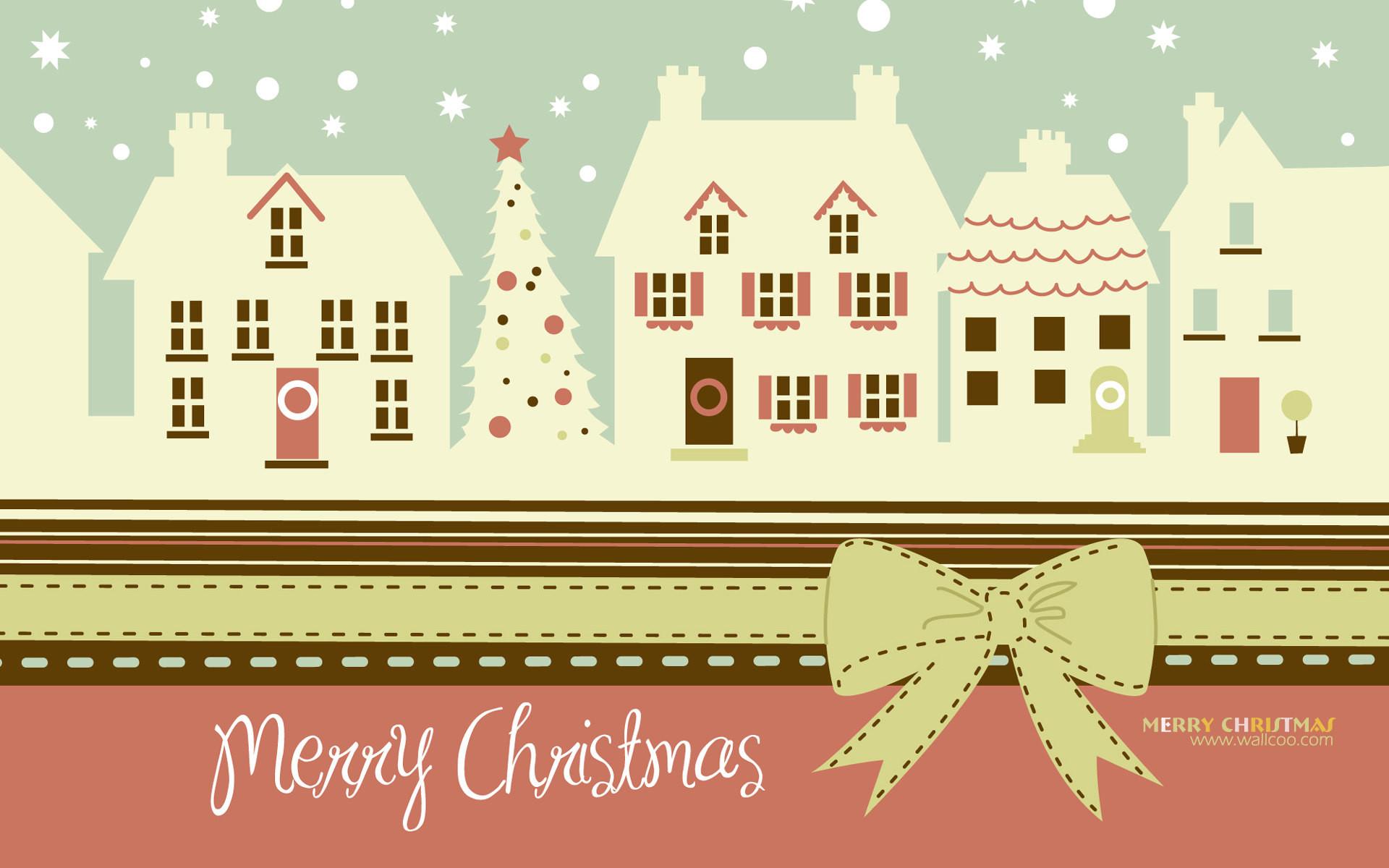 HD Widescreen Christmas art : christmas design and christmas illustrations  圣诞节插画 1920*1200