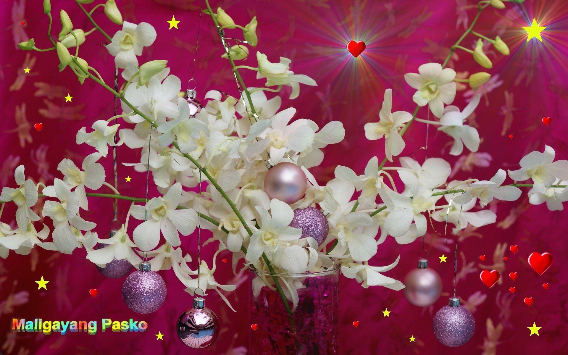 Widescreen Wallpaper Maligayang Pasko – free Filipino Christmas .