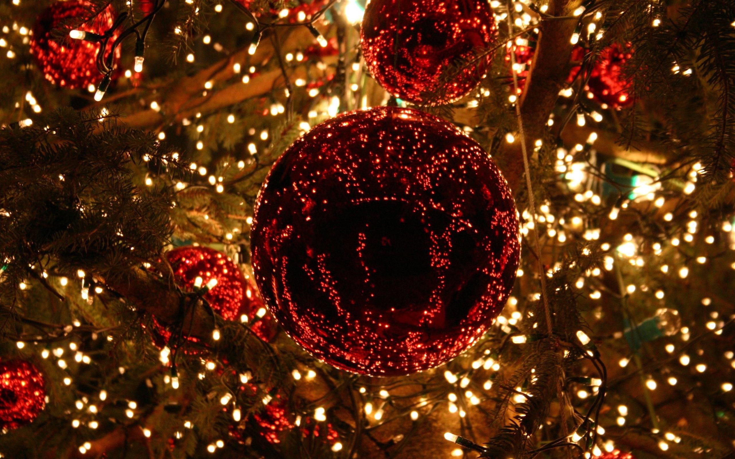 Christmas Lights Background HD wallpaper – HD Wallpapers