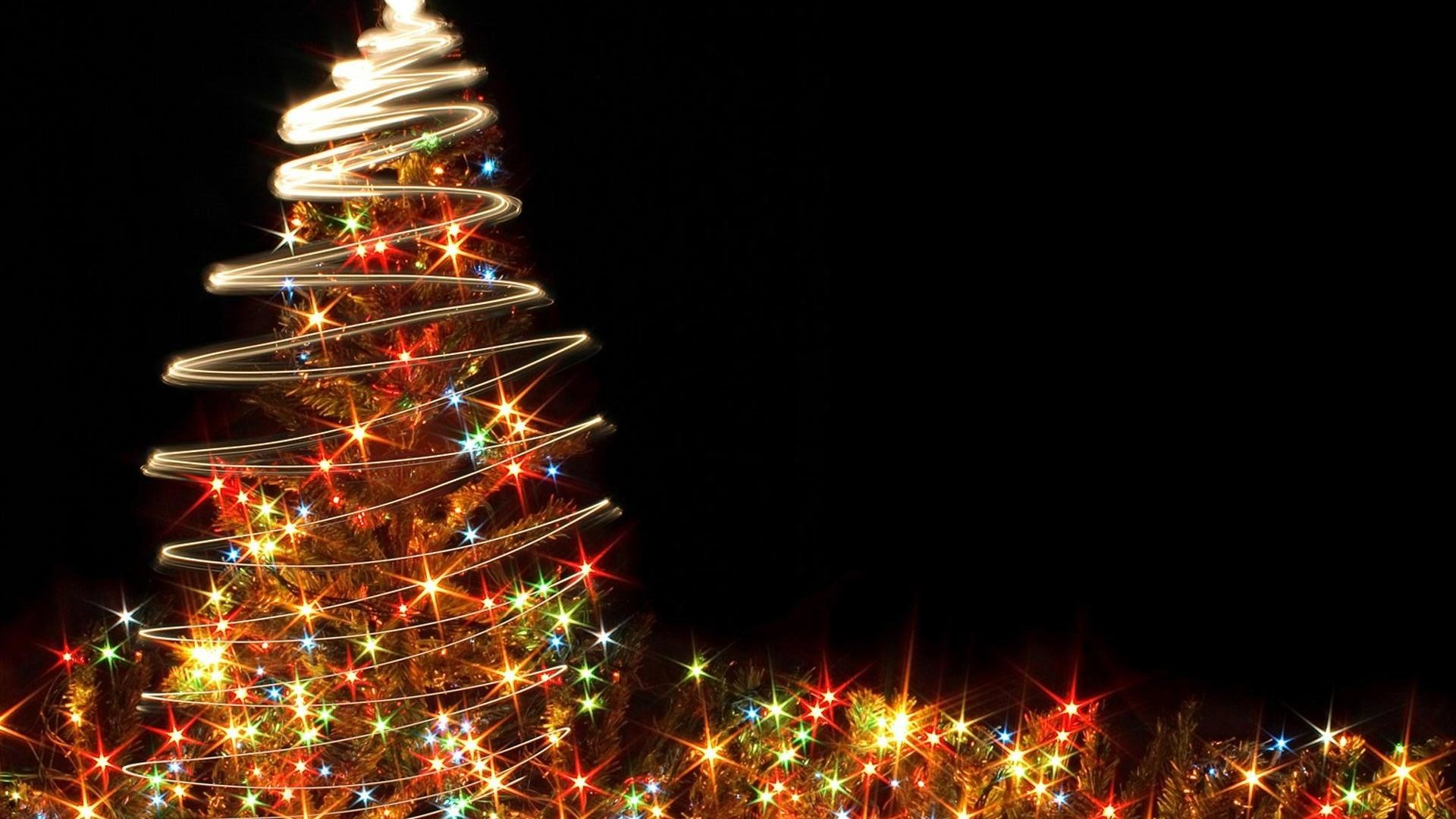 Animated Christmas Desktop Widescreen HD Wallpaper