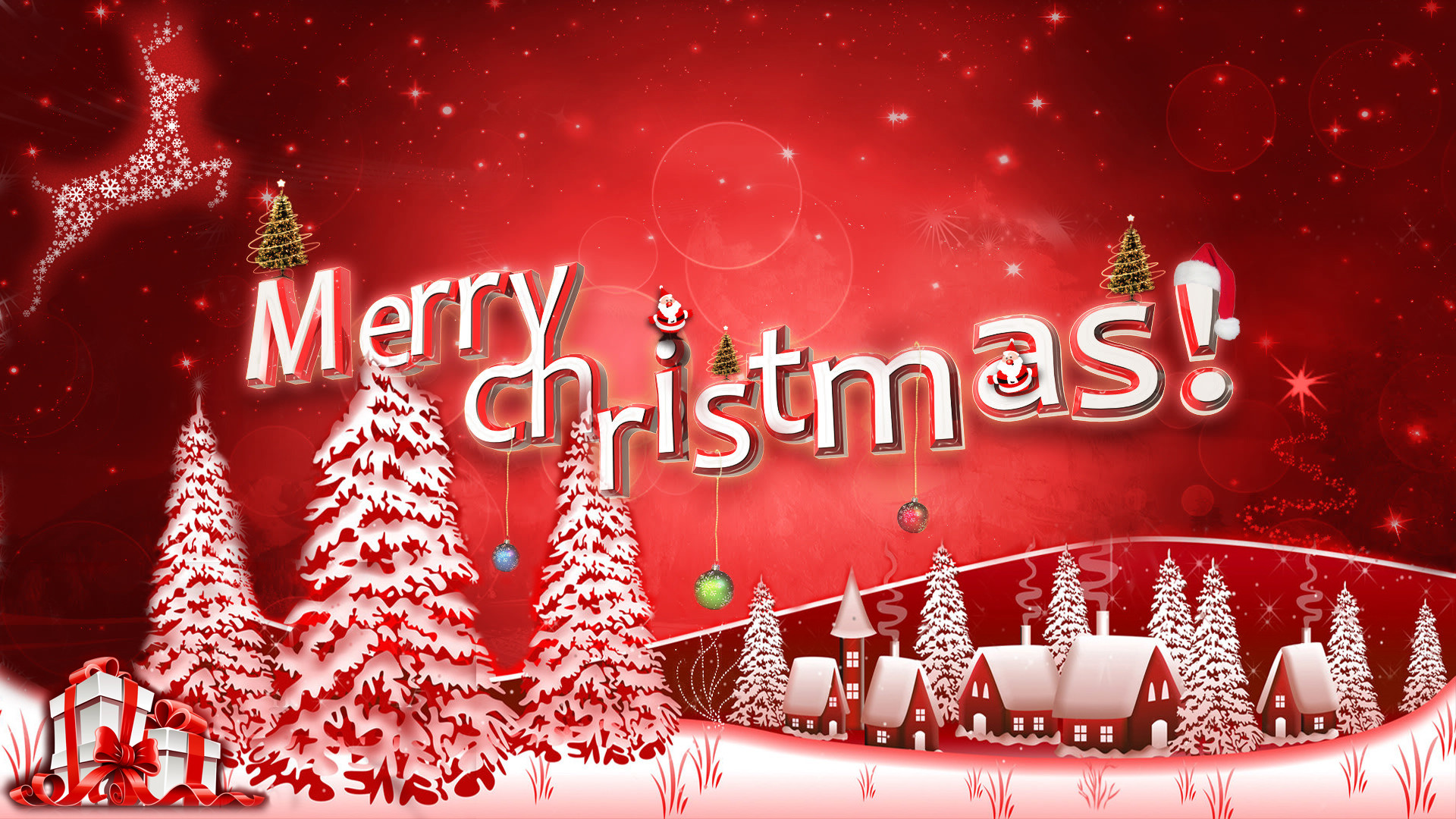 16 HD Christmas Desktop Wallpapers For Free Download