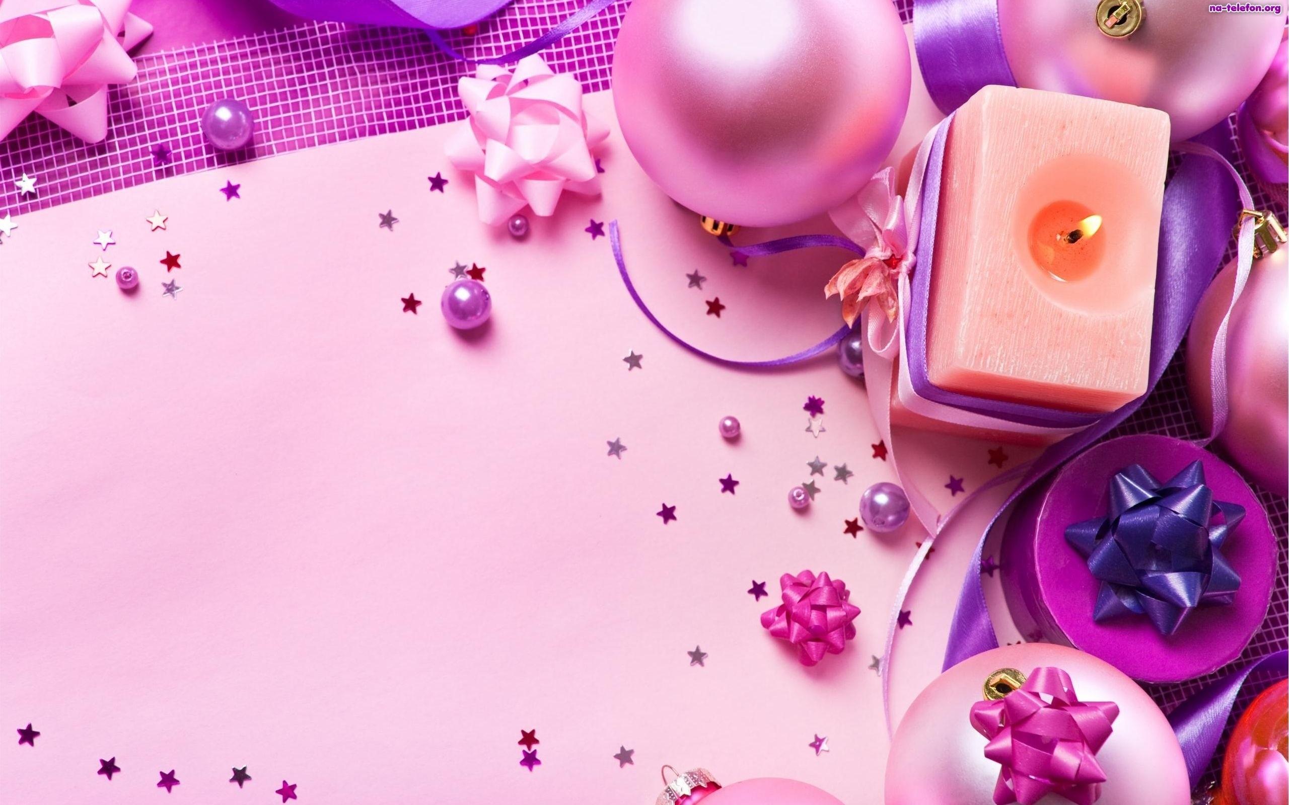 Pink Christmas♥ wallpaper – ForWallpaper.com