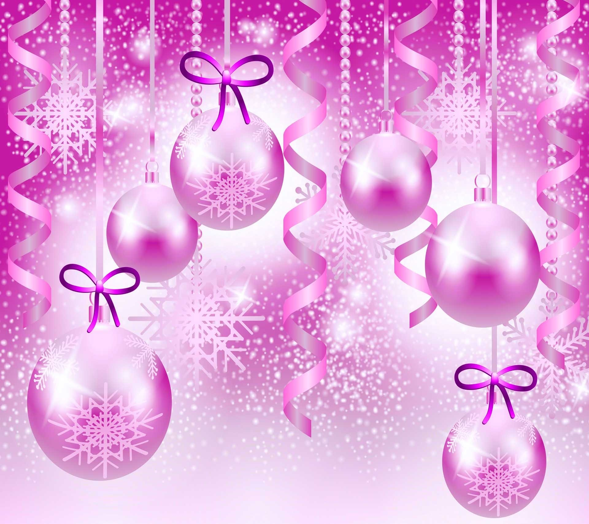 … Pink Christmas Wallpaper 2015 pink Christmas backgrounds …