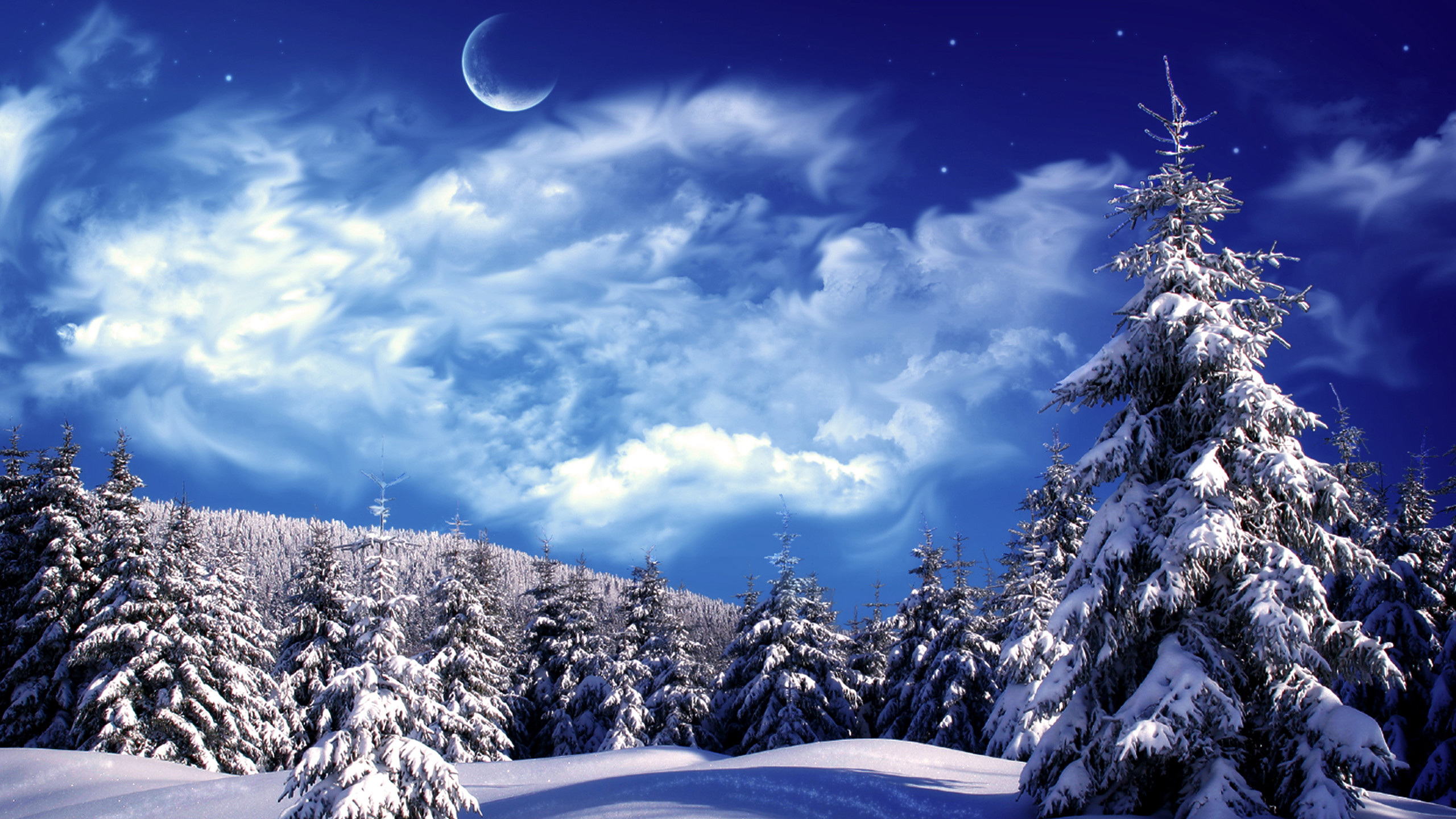 Winter And Snow Scenes   Wallpaper Bonzy