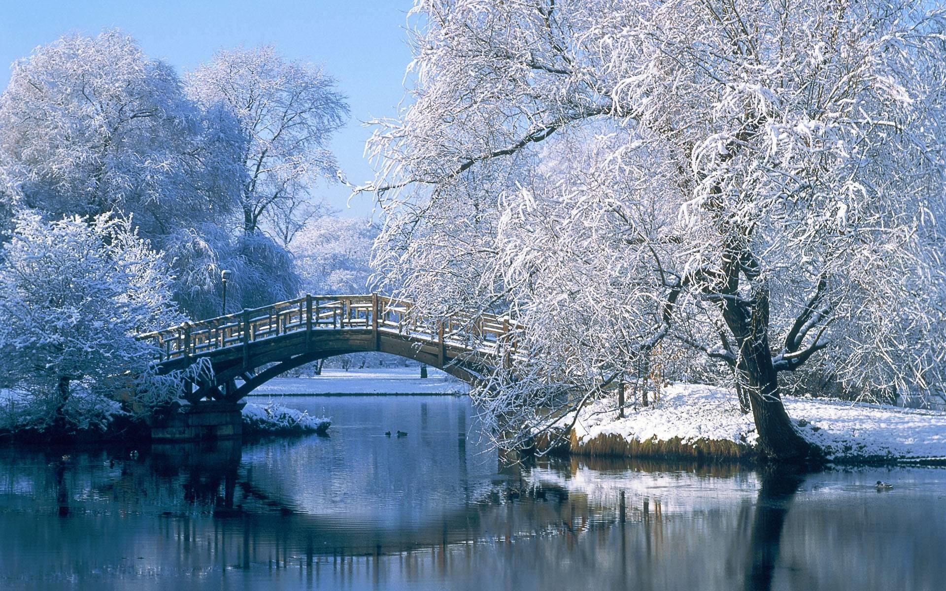 Winter Scenes for Desktop Wallpapers – HD Wallpapers Inn
