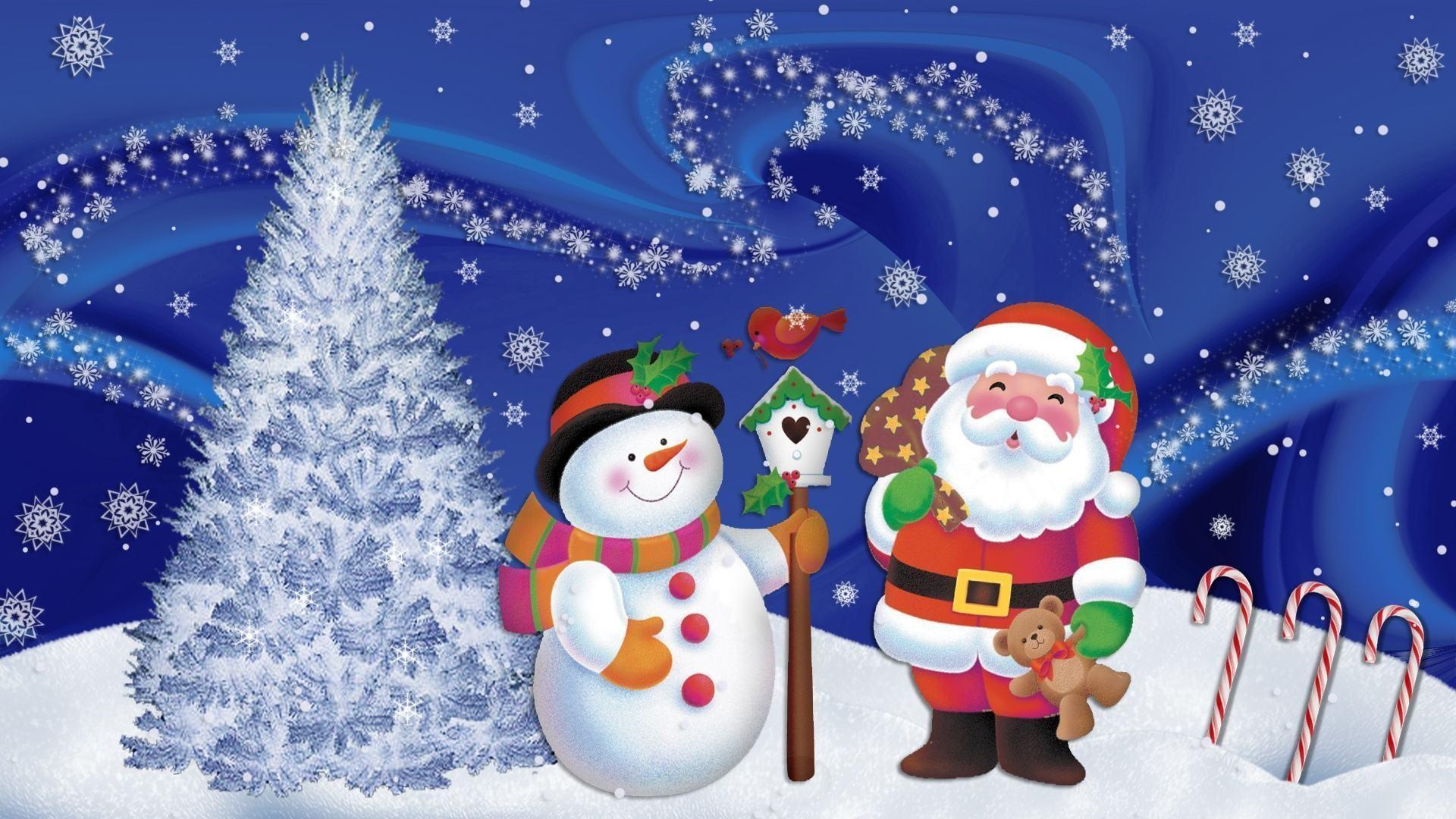 Christmas Anime Scene Wallpaper Background #81144 – Ehiyo.com