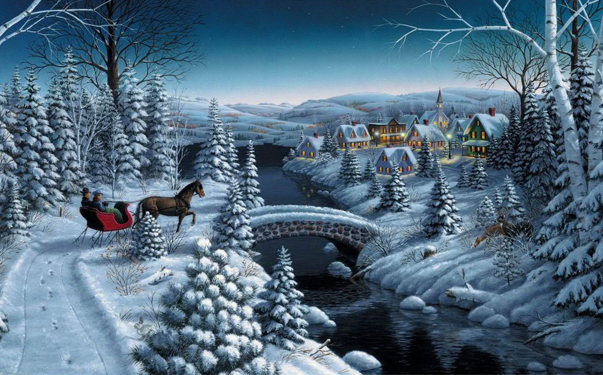 Anticipation – Winter Wallpaper ID 1279077 – Desktop Nexus Nature
