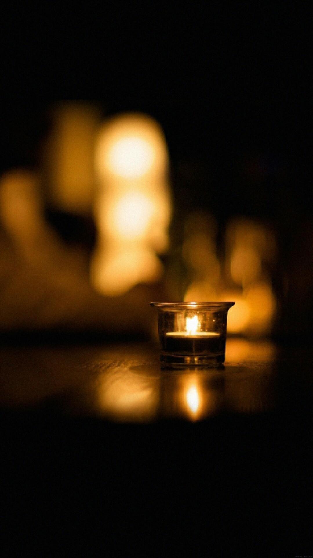 Candlelight cellphone wallpaper lock screen background – Christmas,  thanksgiving, winter, Autumn, Fall
