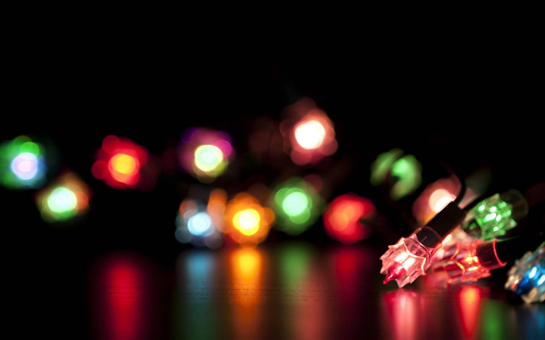 Christmas Lights Blur