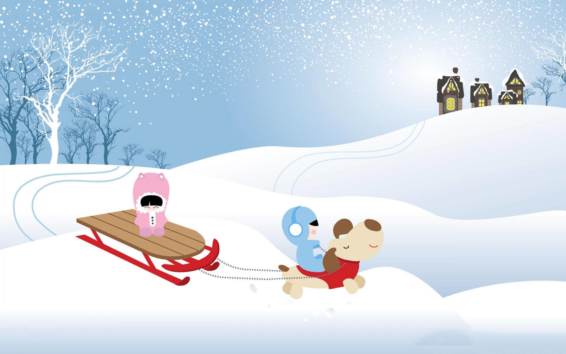 Christmas cartoon snowfall wallpaper. Christmas images Christmas cartoon  snowfall 728×409.jpg Resolution:…