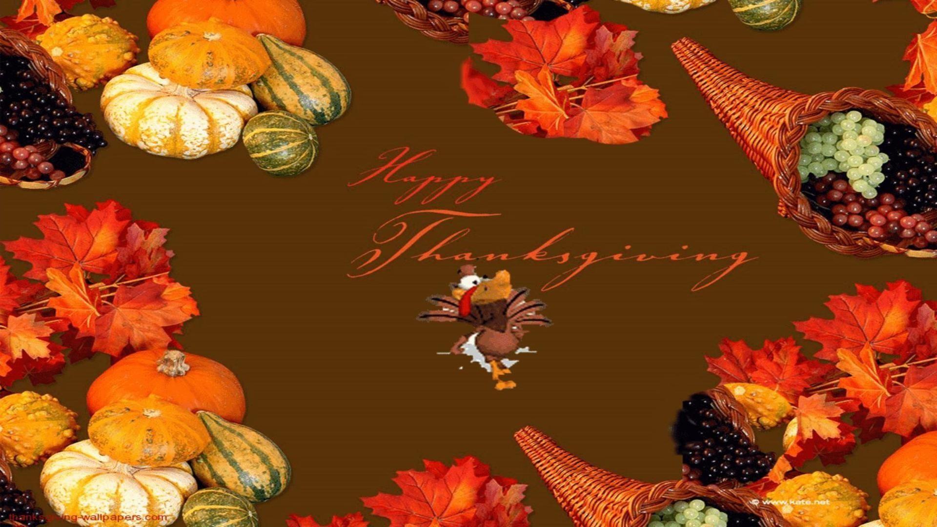 Happy Thanksgiving Background Wallpaper