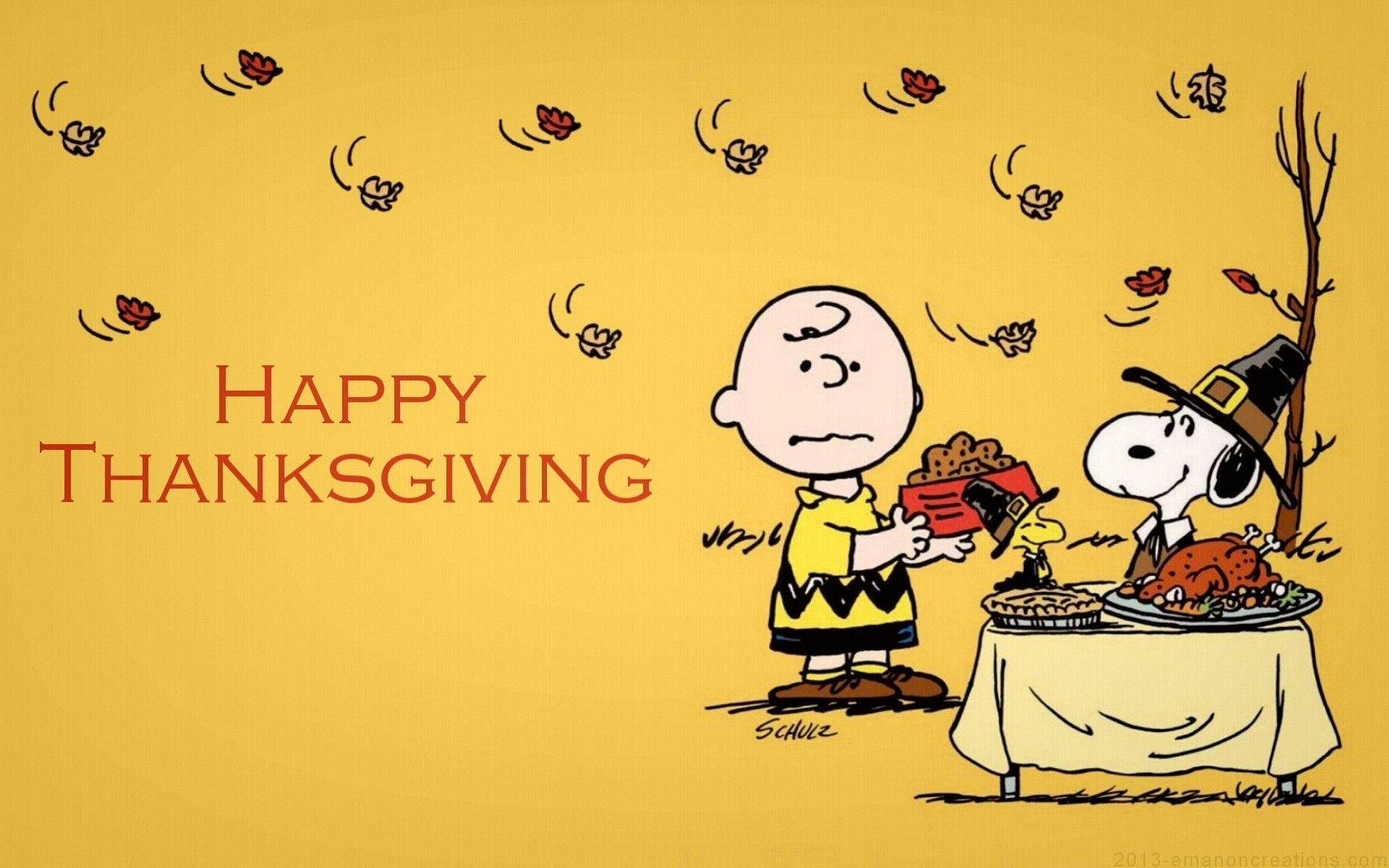 Snoopy Thanksgiving Wallpaper – Viewing Gallery