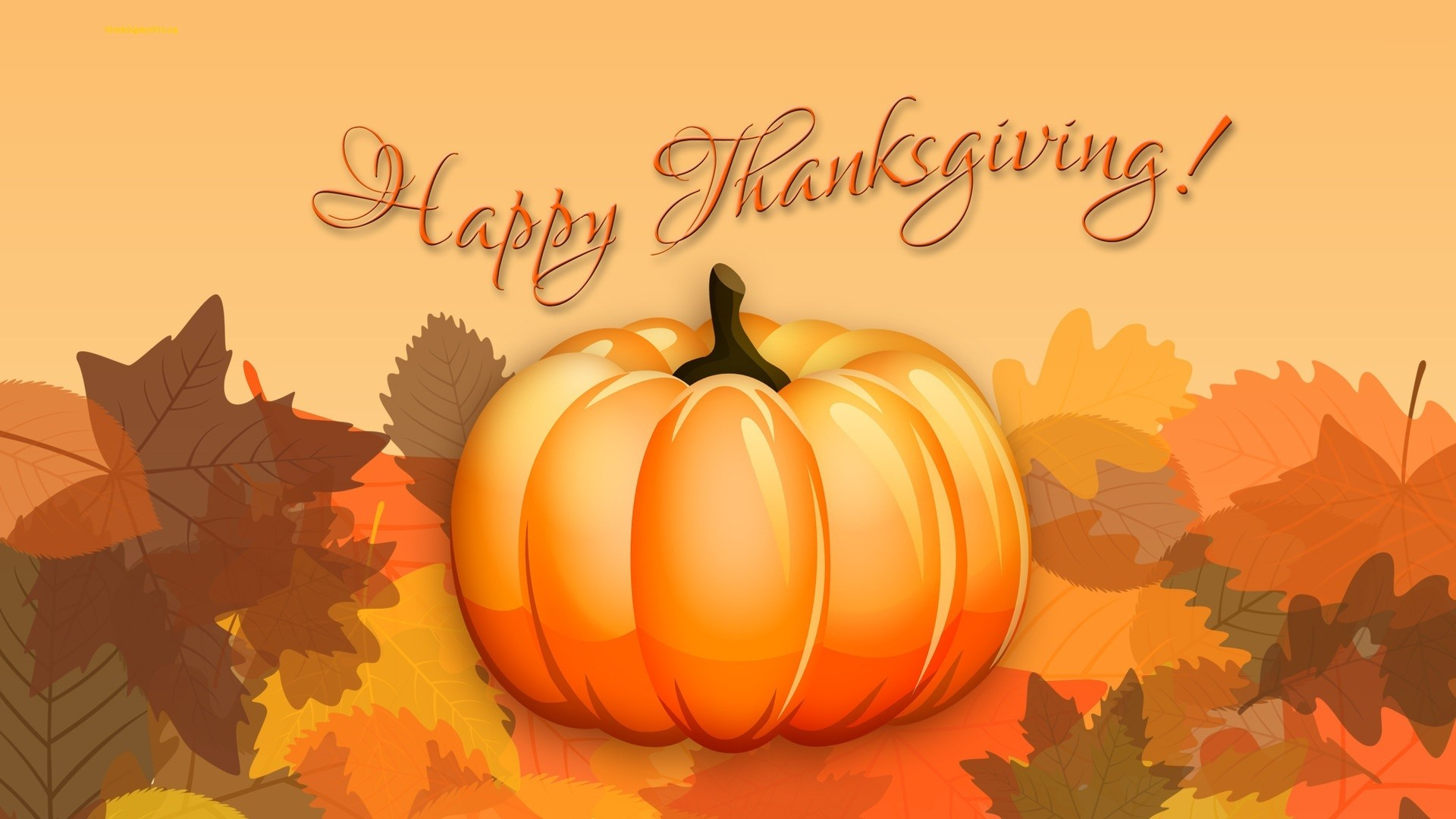 Happy Thanksgiving HD Wallpaper Free