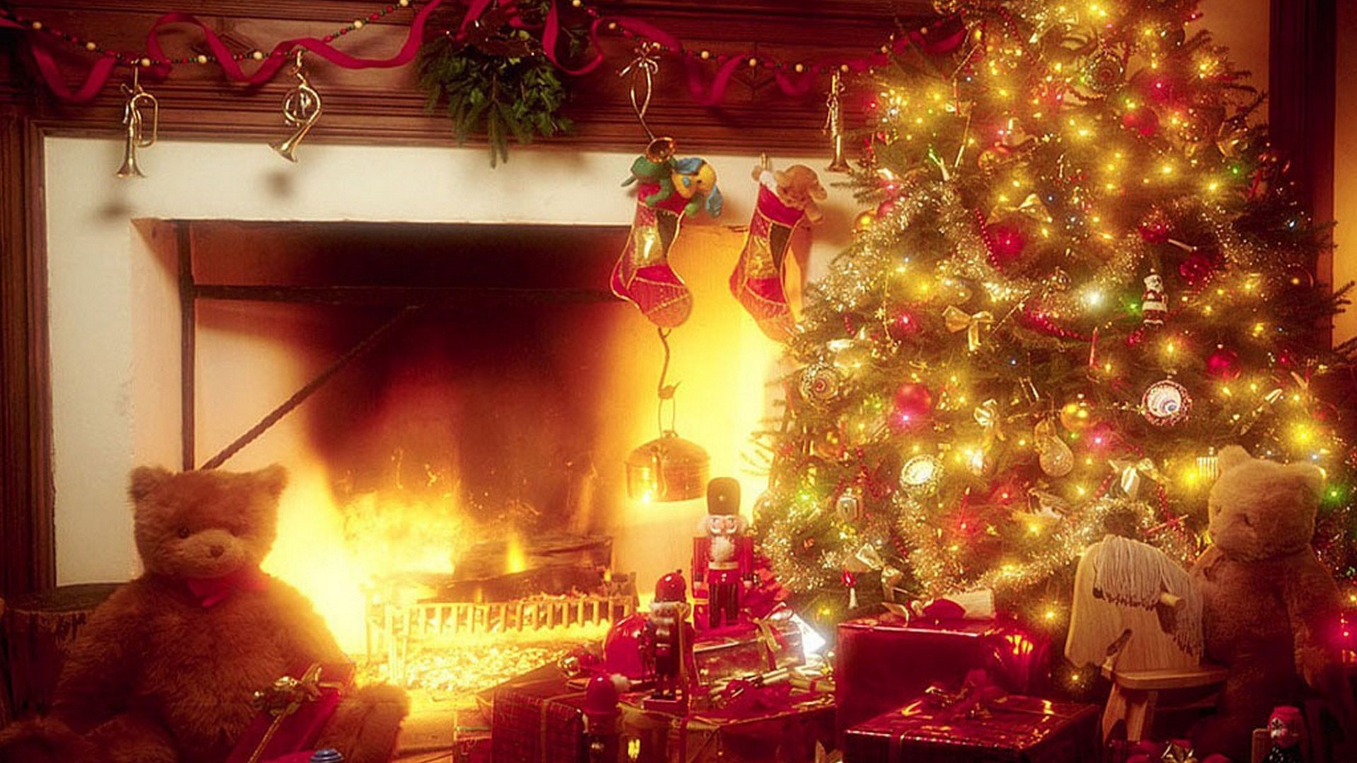 Winter Christmas Desktop Backgrounds – Wallpaper HD Base