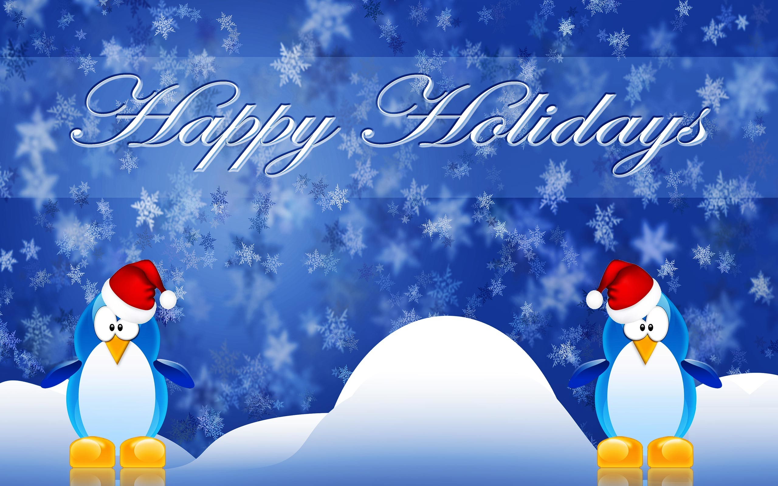 Happy winter and christmas holidays wallpapers.