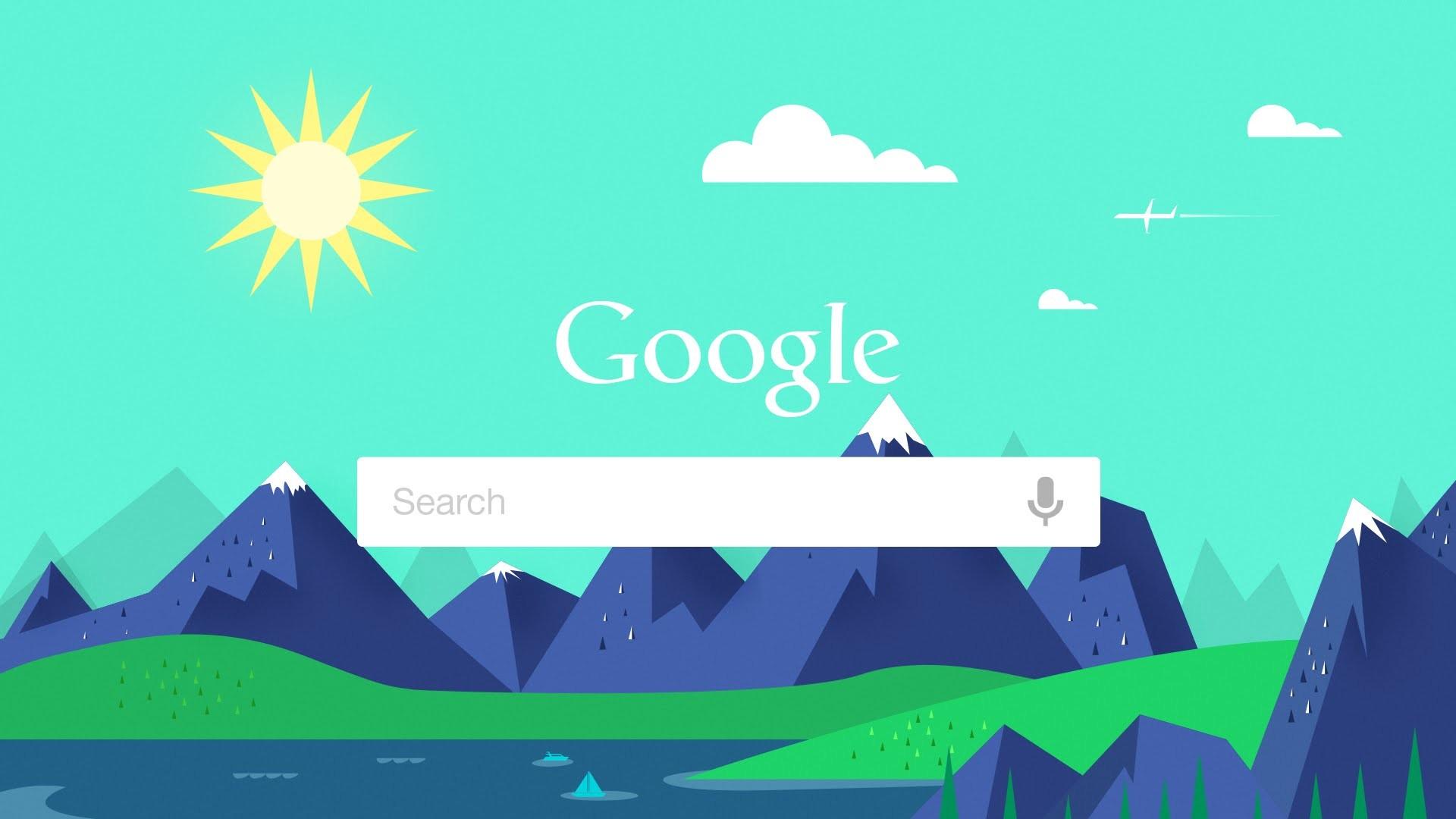Illustrator Tutorial – Flat Design Summer Wallpaper (Google Now) – YouTube