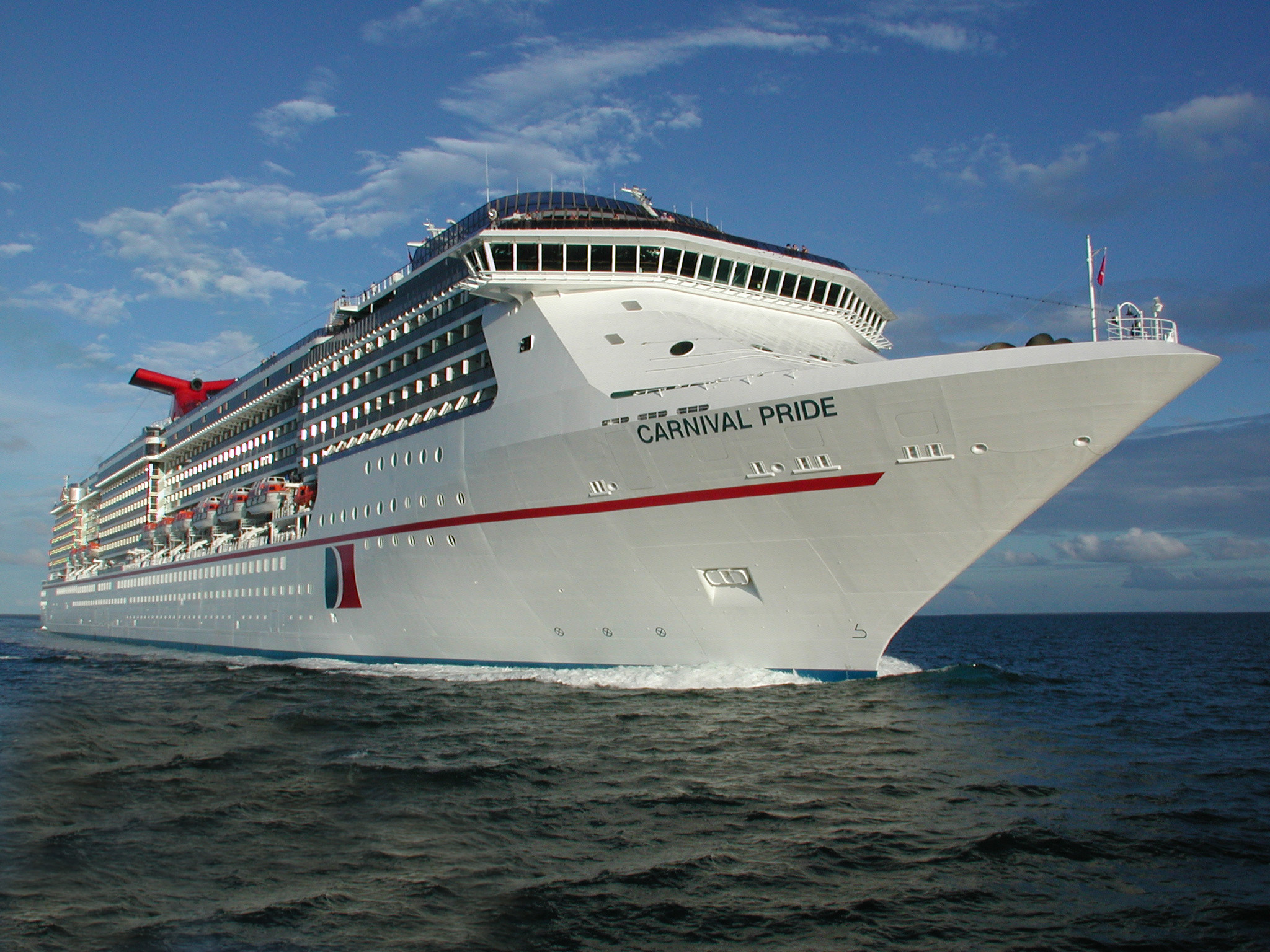 2017 first carnival cruise ship built