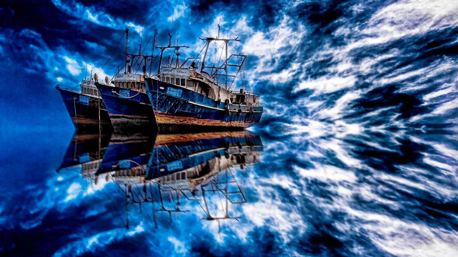 Fantasy Ship Wallpaper