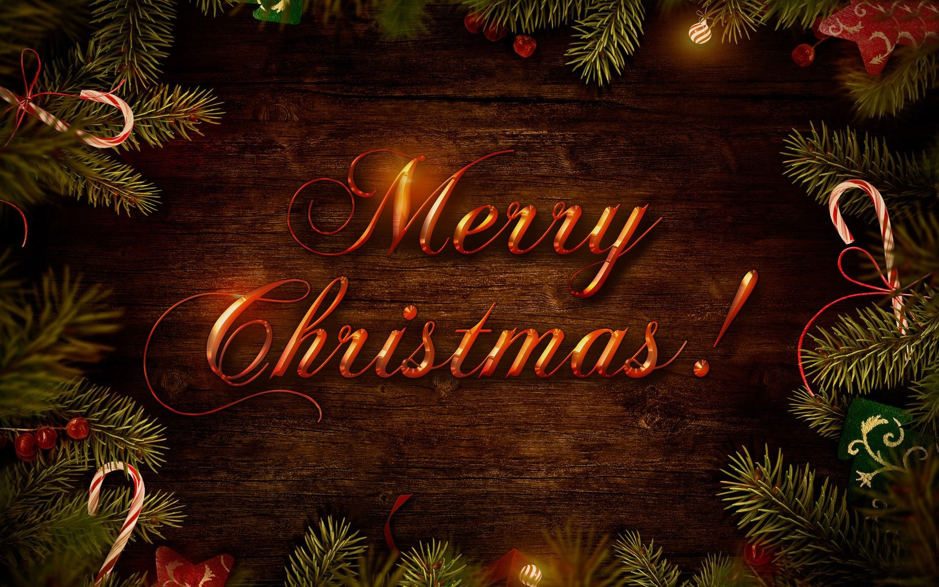 Beautiful Merry Christmas HD Wallpapers