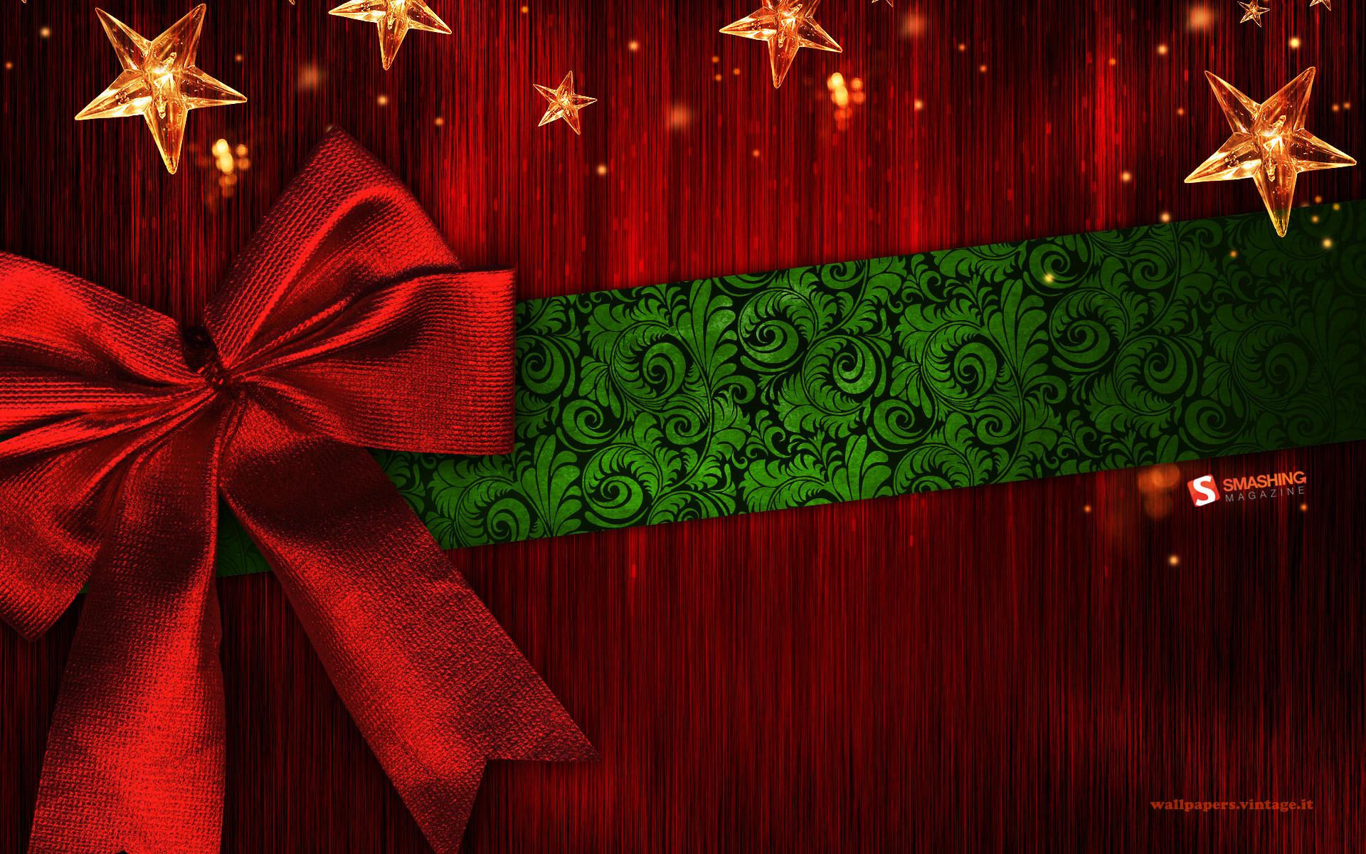 Stars and stripes – Christmas wallpaper