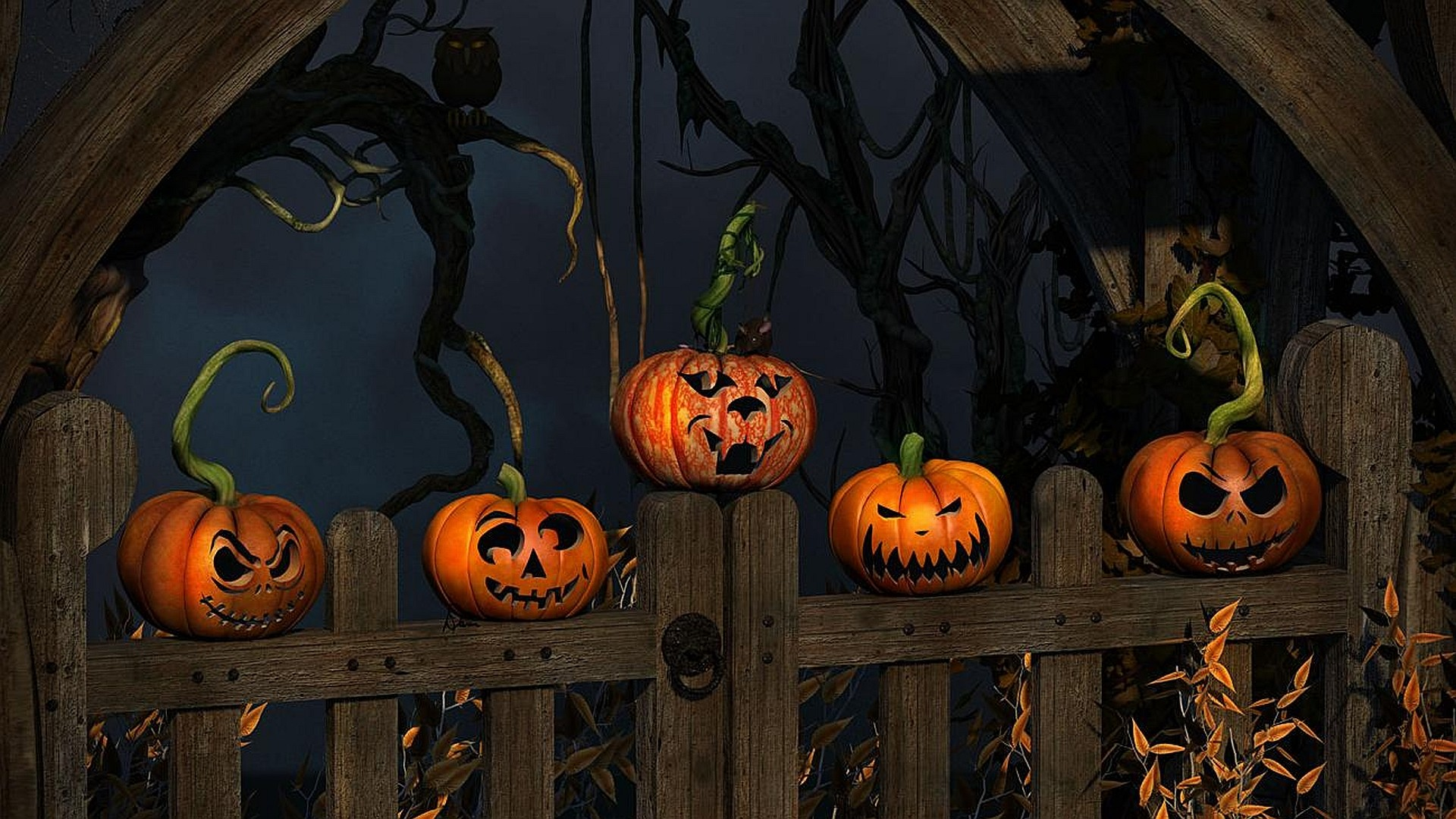 holiday halloween wallpapers wallpaper images 1920×1080
