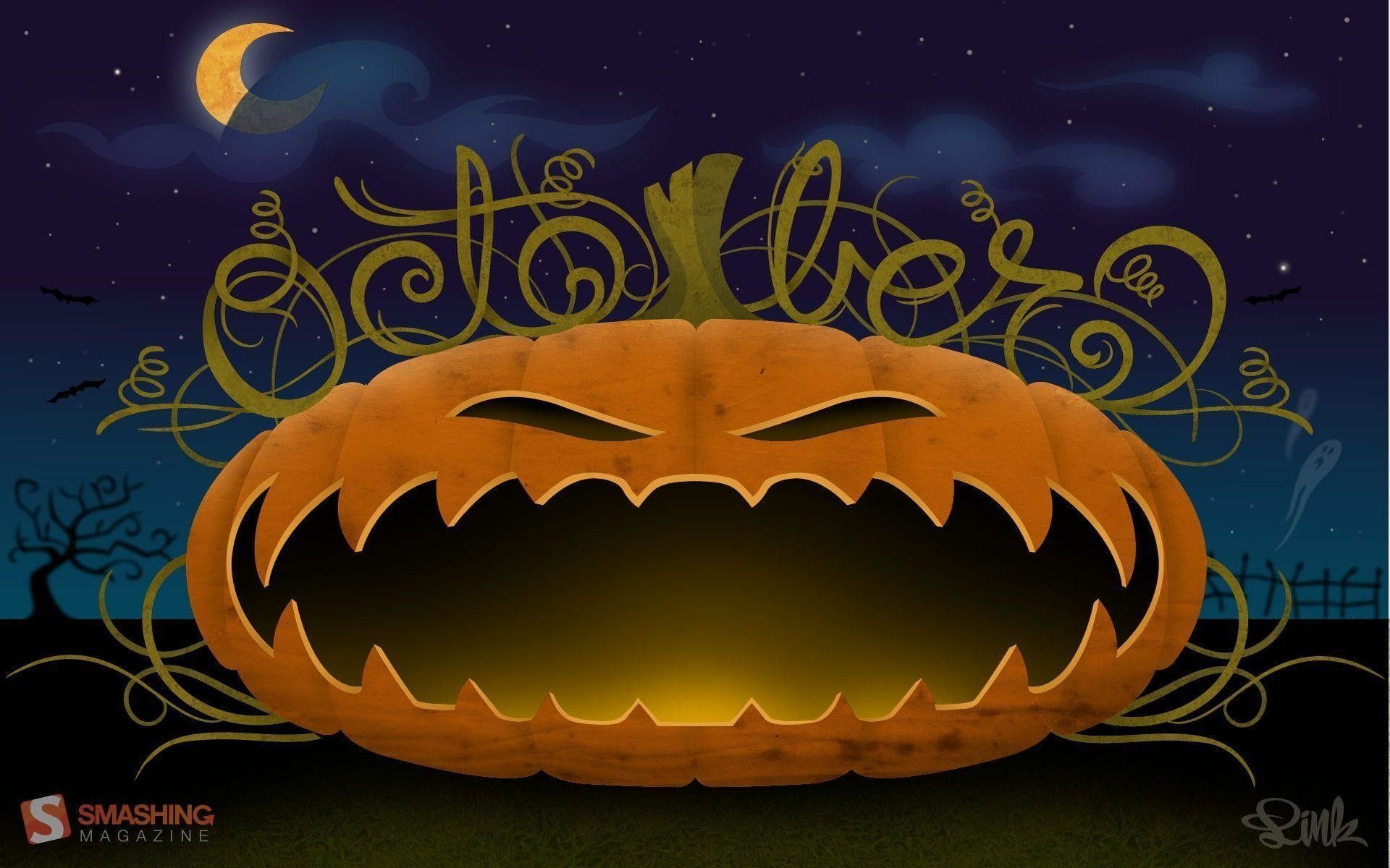 Halloween Desktop Wallpapers FREE on Latoro.com