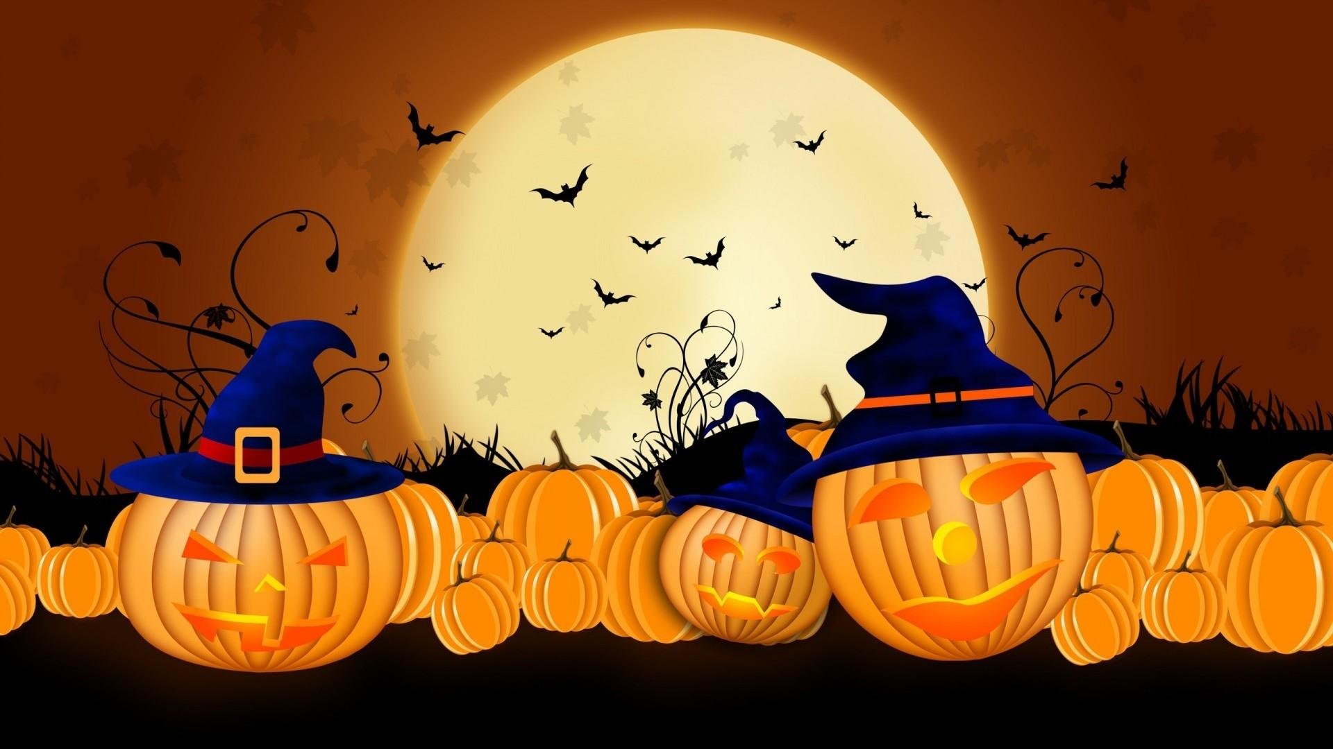 Preview wallpaper halloween, 2015, pumpkins, autumn 1920×1080