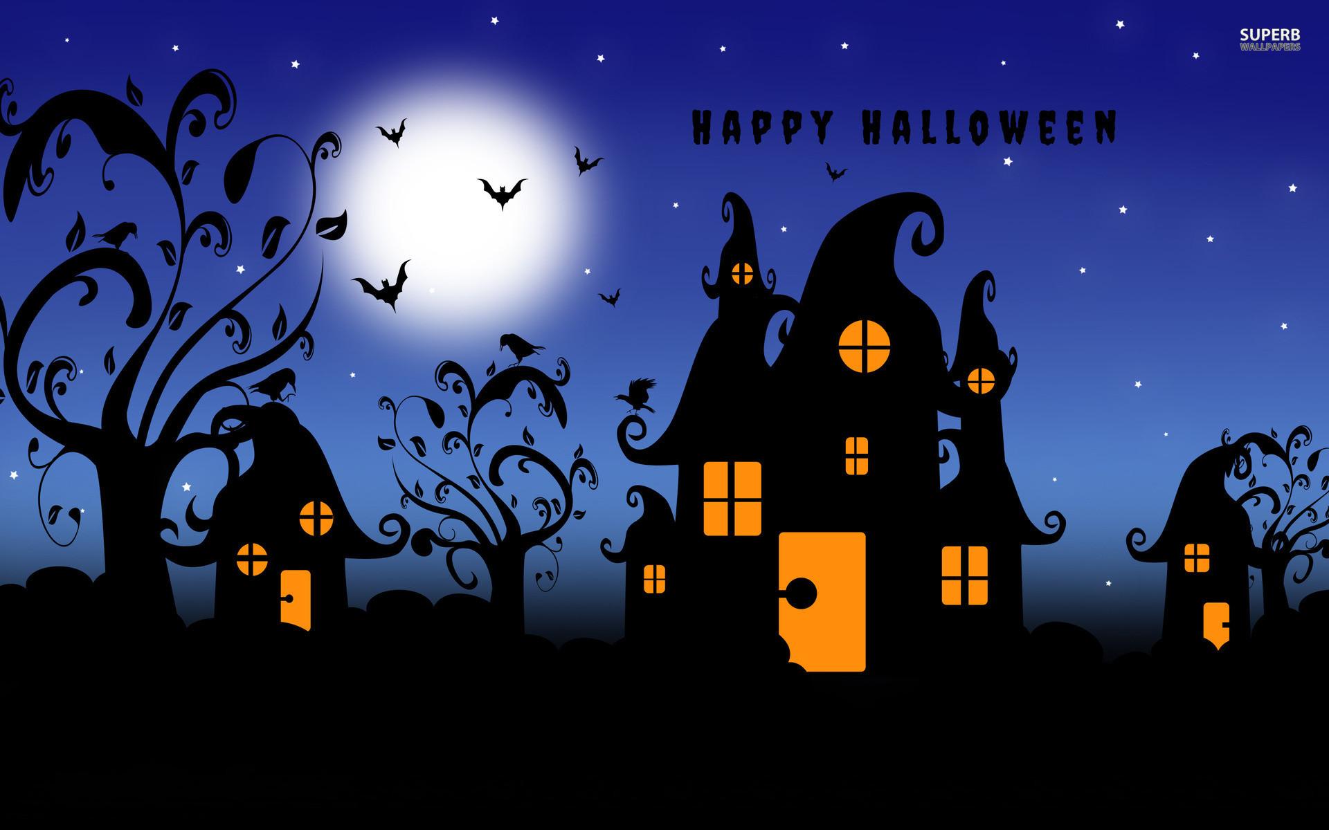 Happy Halloween Wallpapers Wide