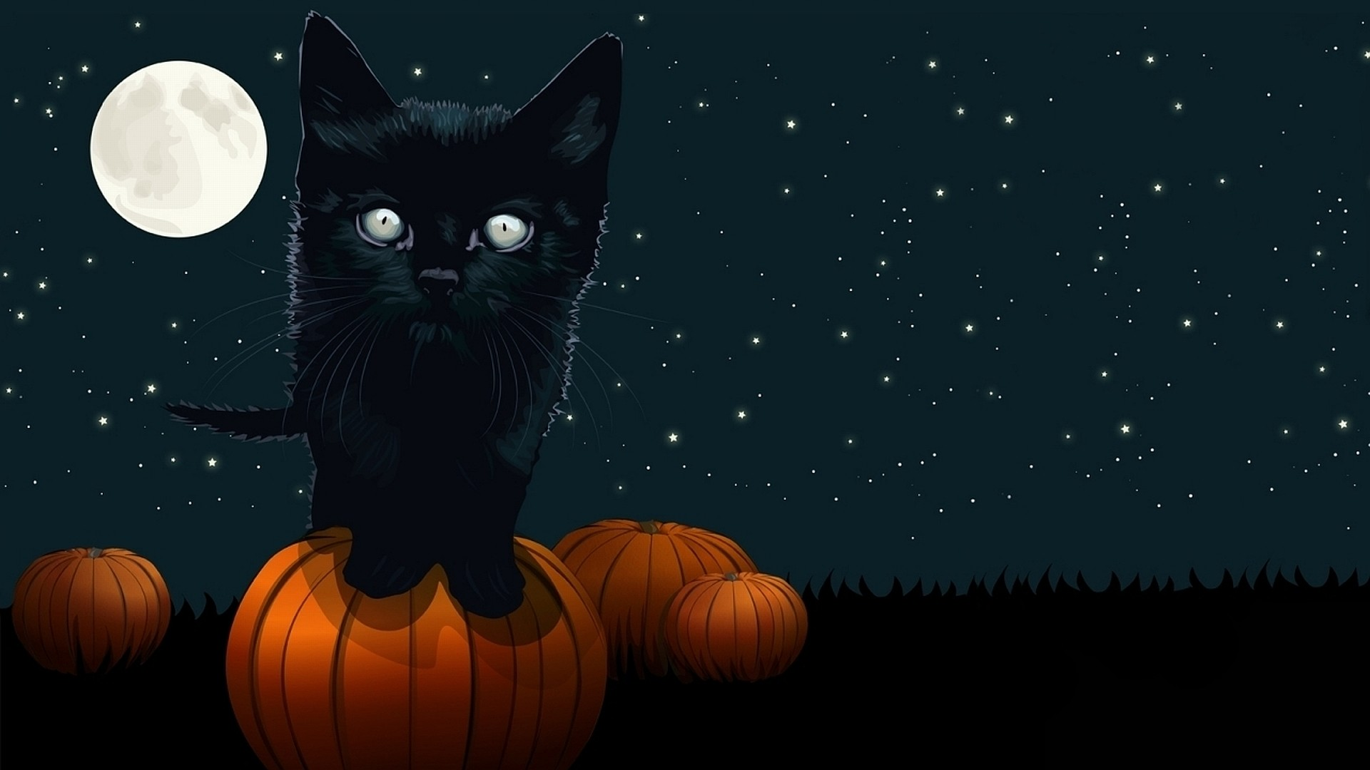 Halloween Desktop Wallpaper WallpaperSafari