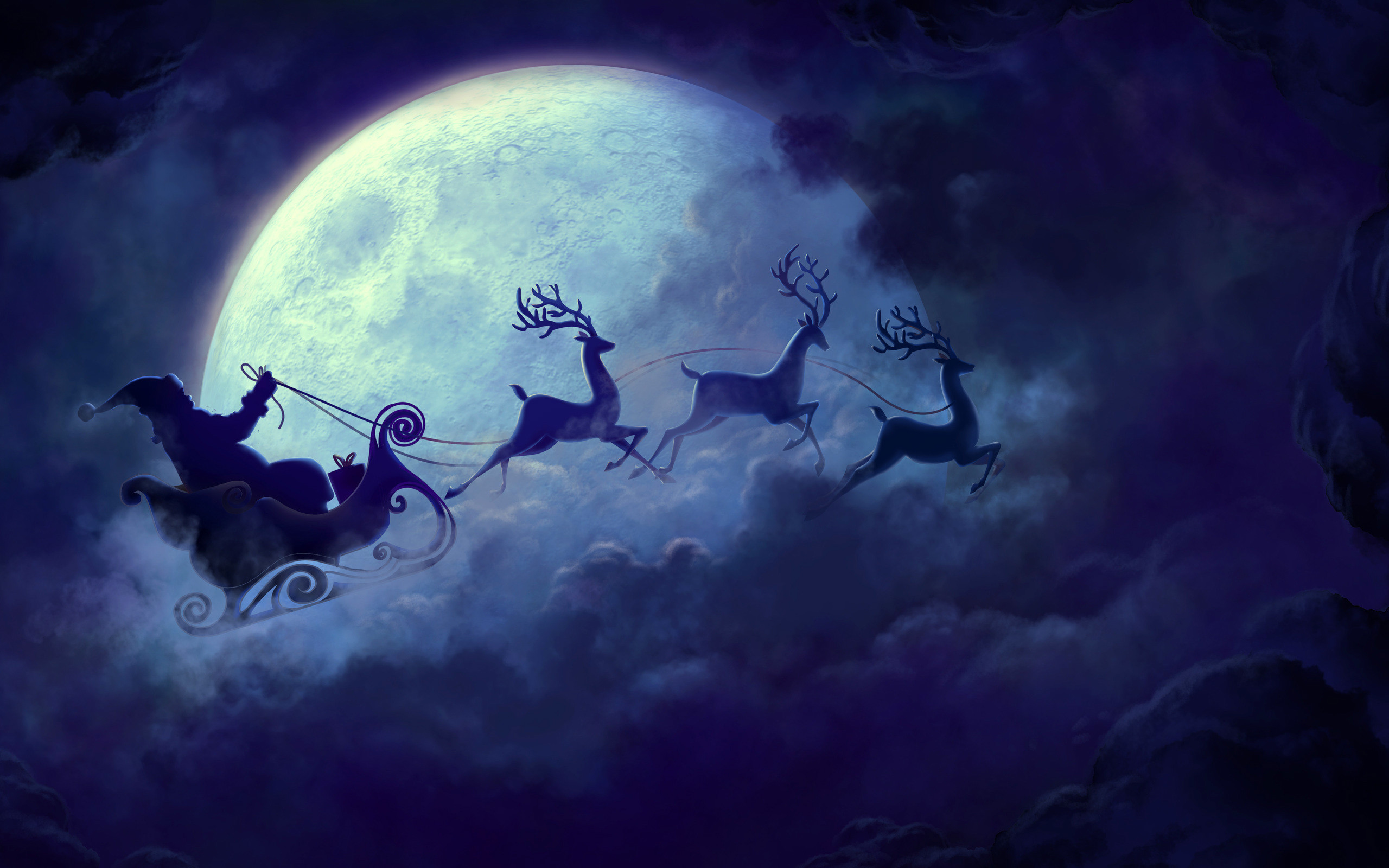 Celebrations / Christmas / Santa Claus Wallpaper