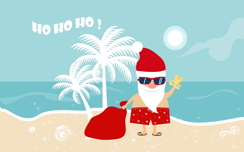 … Santa HD Wallpaper 2880×1800