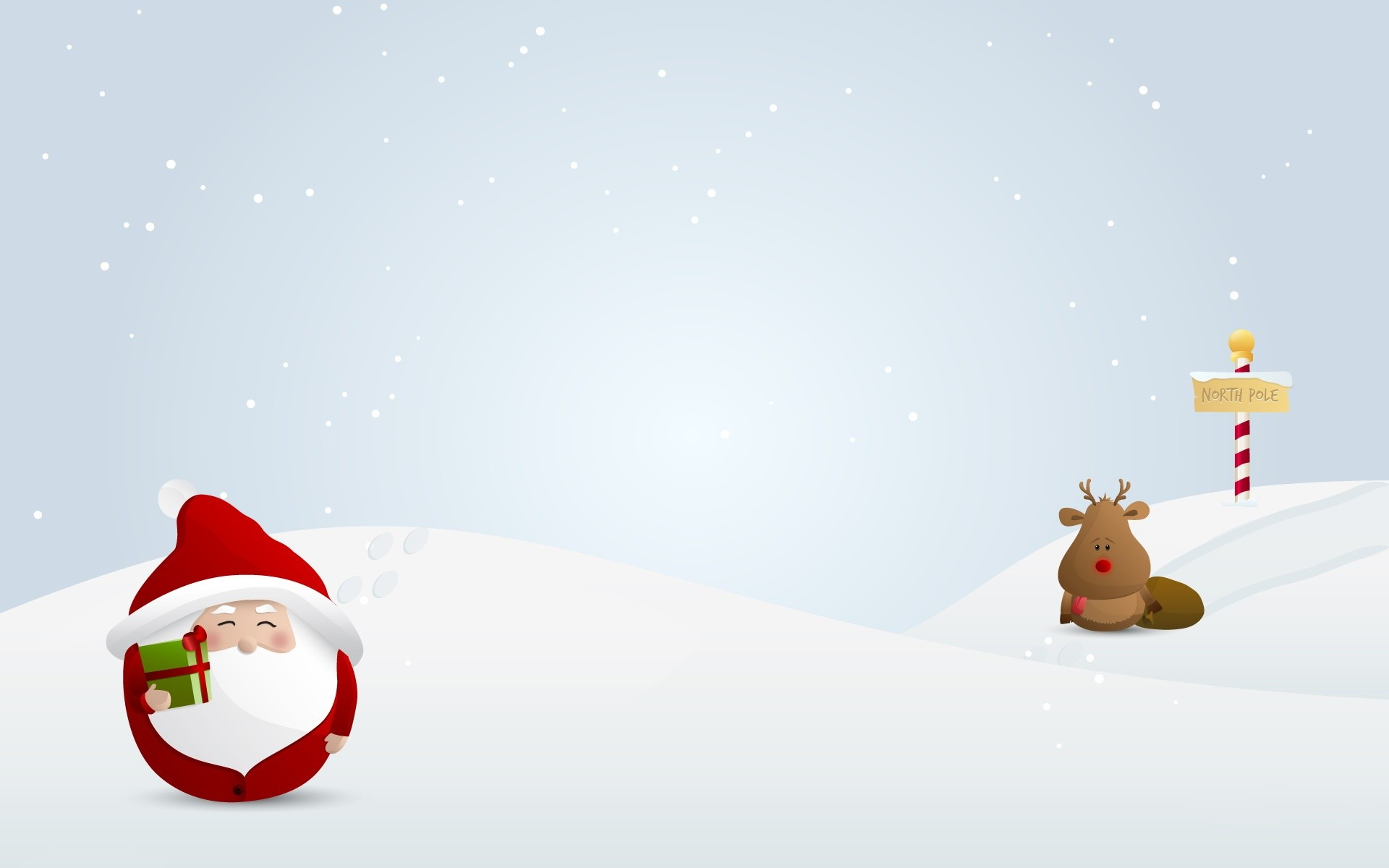 Santa Claus and reindeer wallpapers and images – wallpapers, pictures .